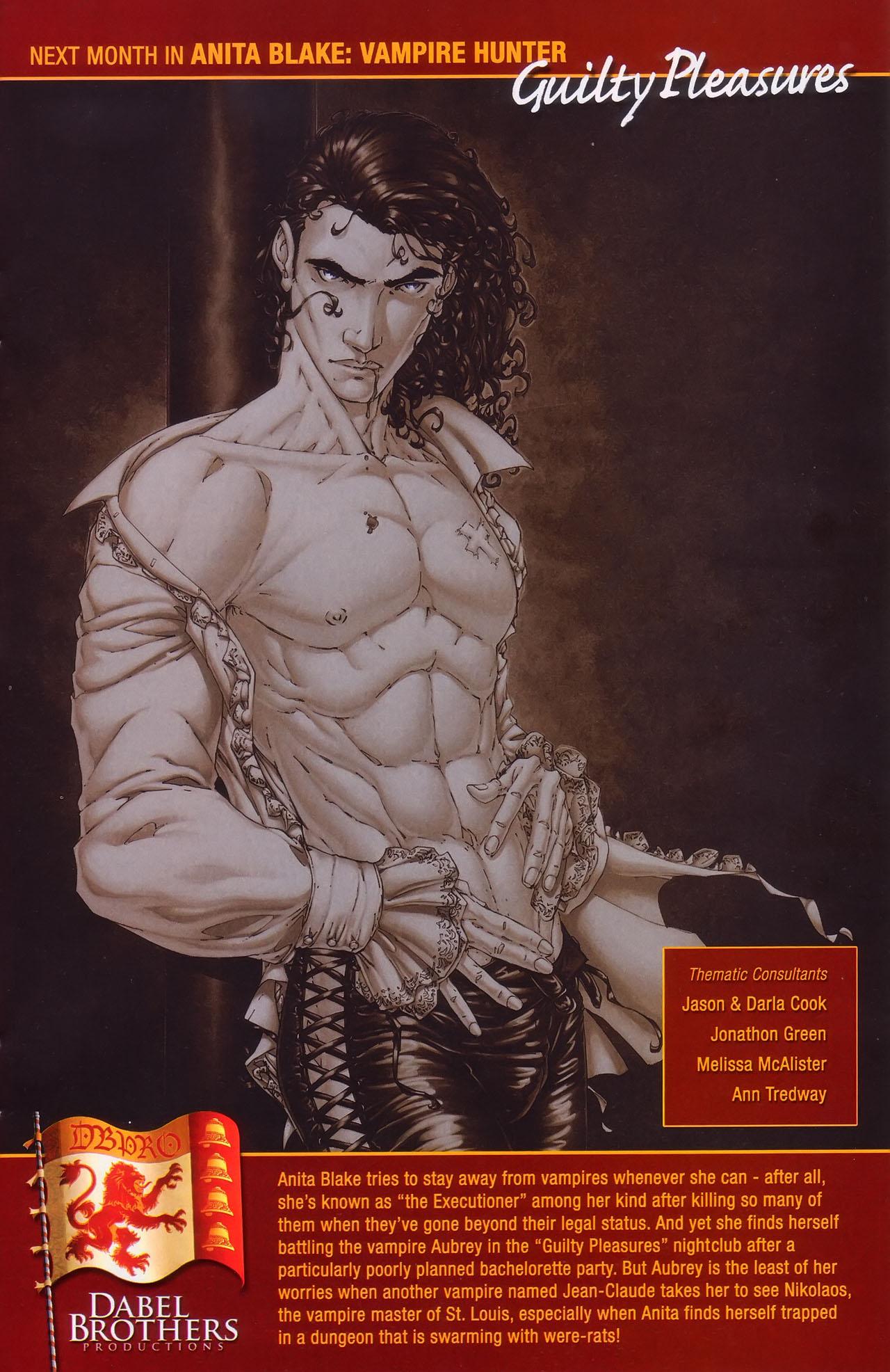Read online Anita Blake, Vampire Hunter: Guilty Pleasures comic -  Issue #1 - 25