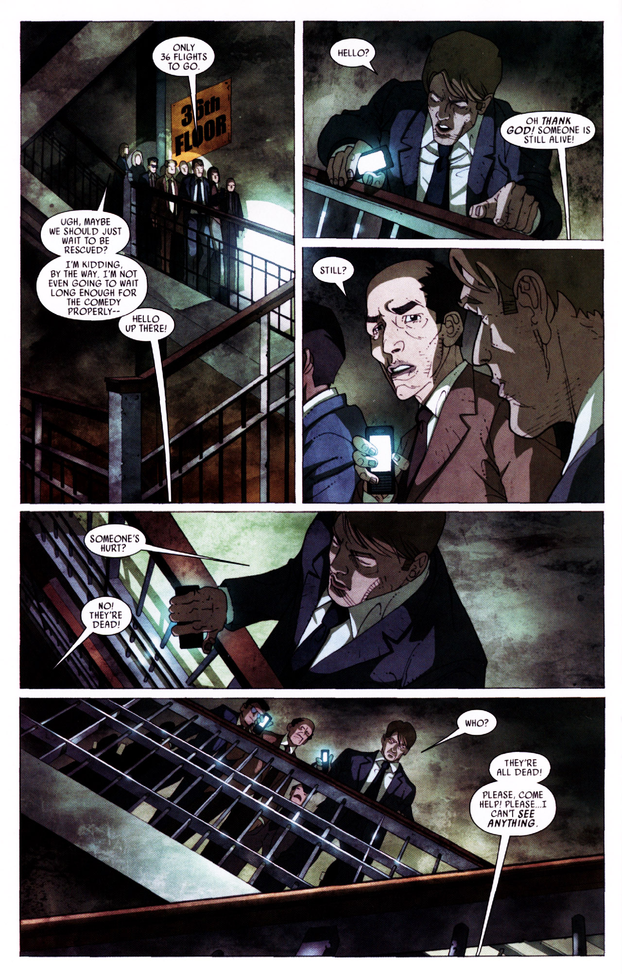Read online Secret Invasion: Front Line comic -  Issue #2 - 21