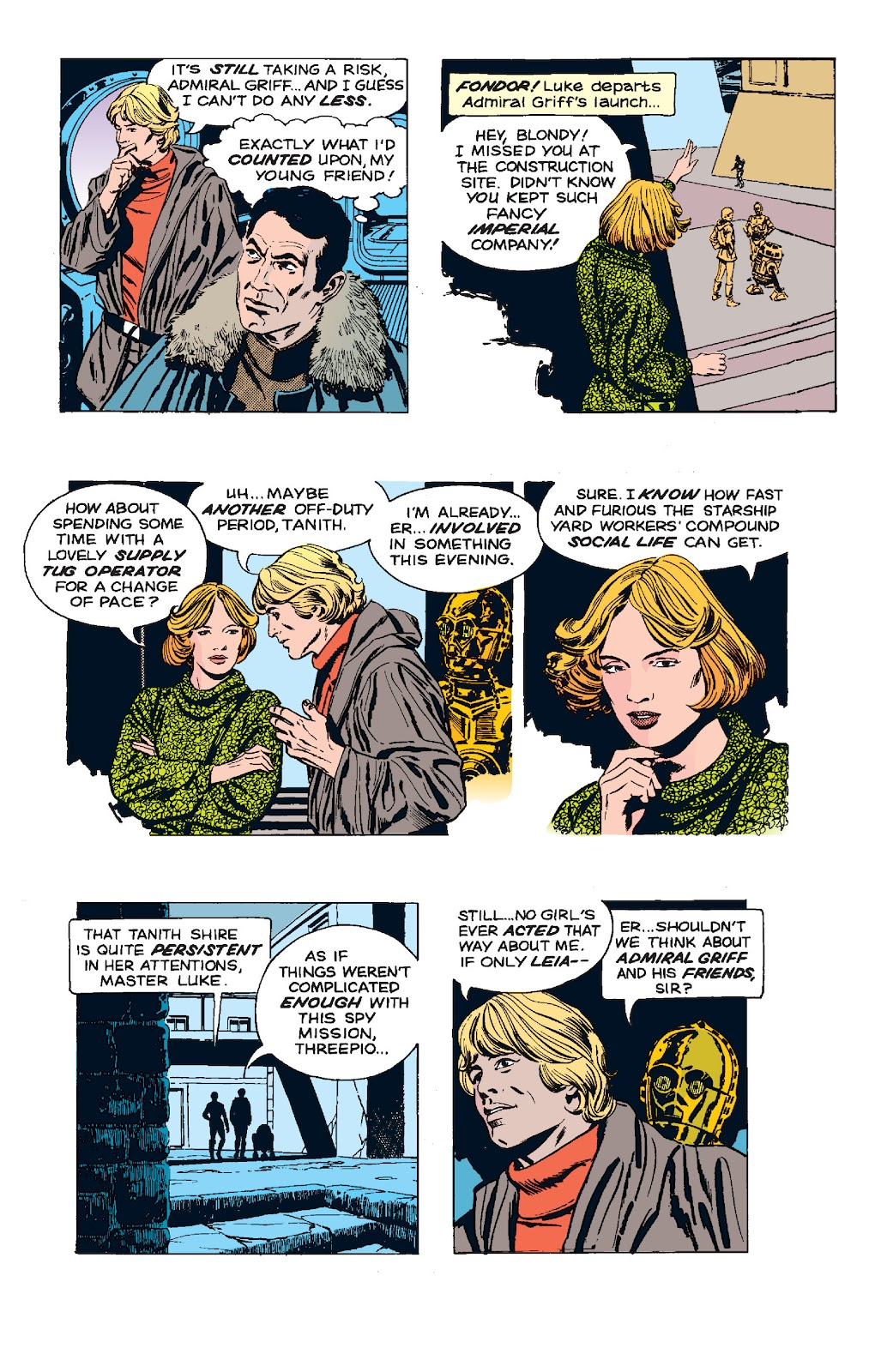 Read online Star Wars Legends: The Newspaper Strips - Epic Collection comic -  Issue # TPB (Part 5) - 56