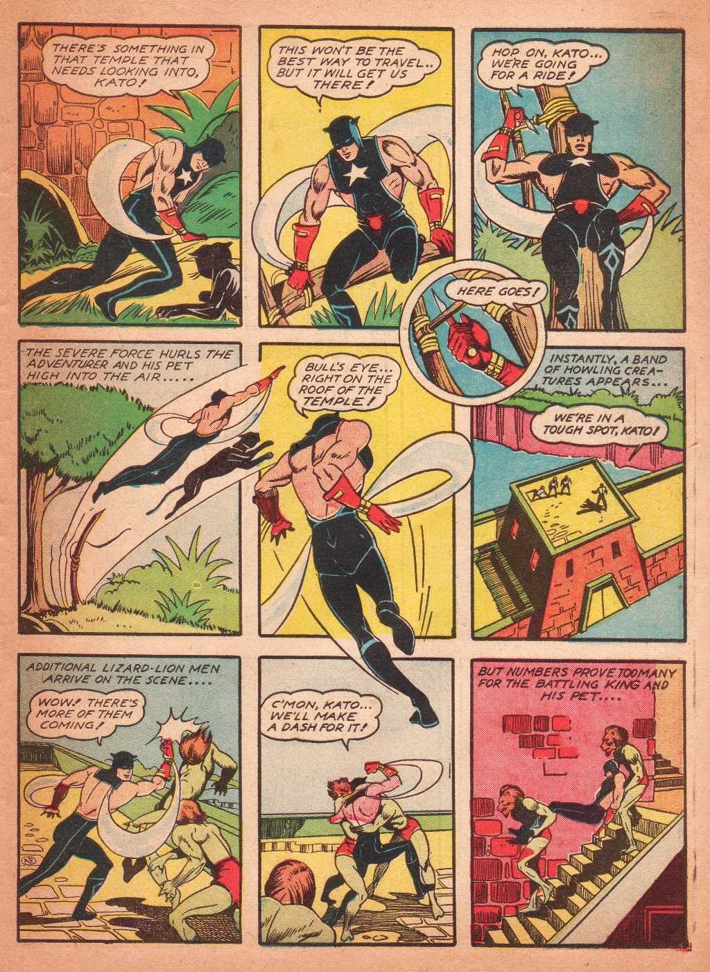 Read online Super-Magician Comics comic -  Issue #2 - 51