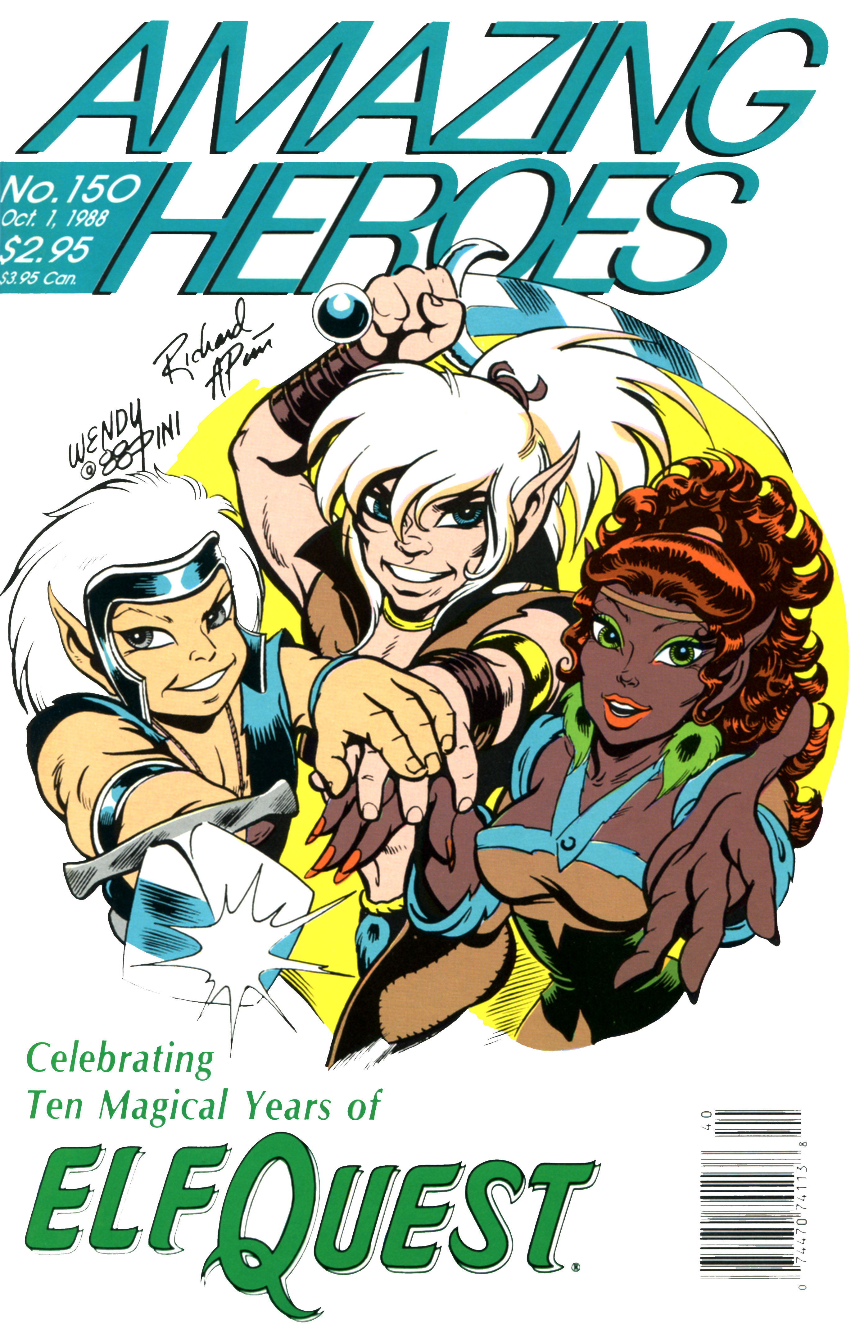 Read online Amazing Heroes comic -  Issue #150 - 1