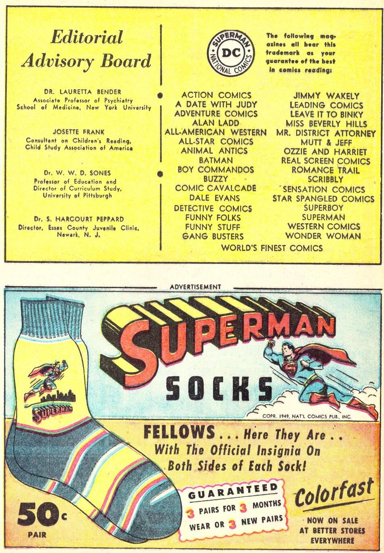 Read online Adventure Comics (1938) comic -  Issue #146 - 22