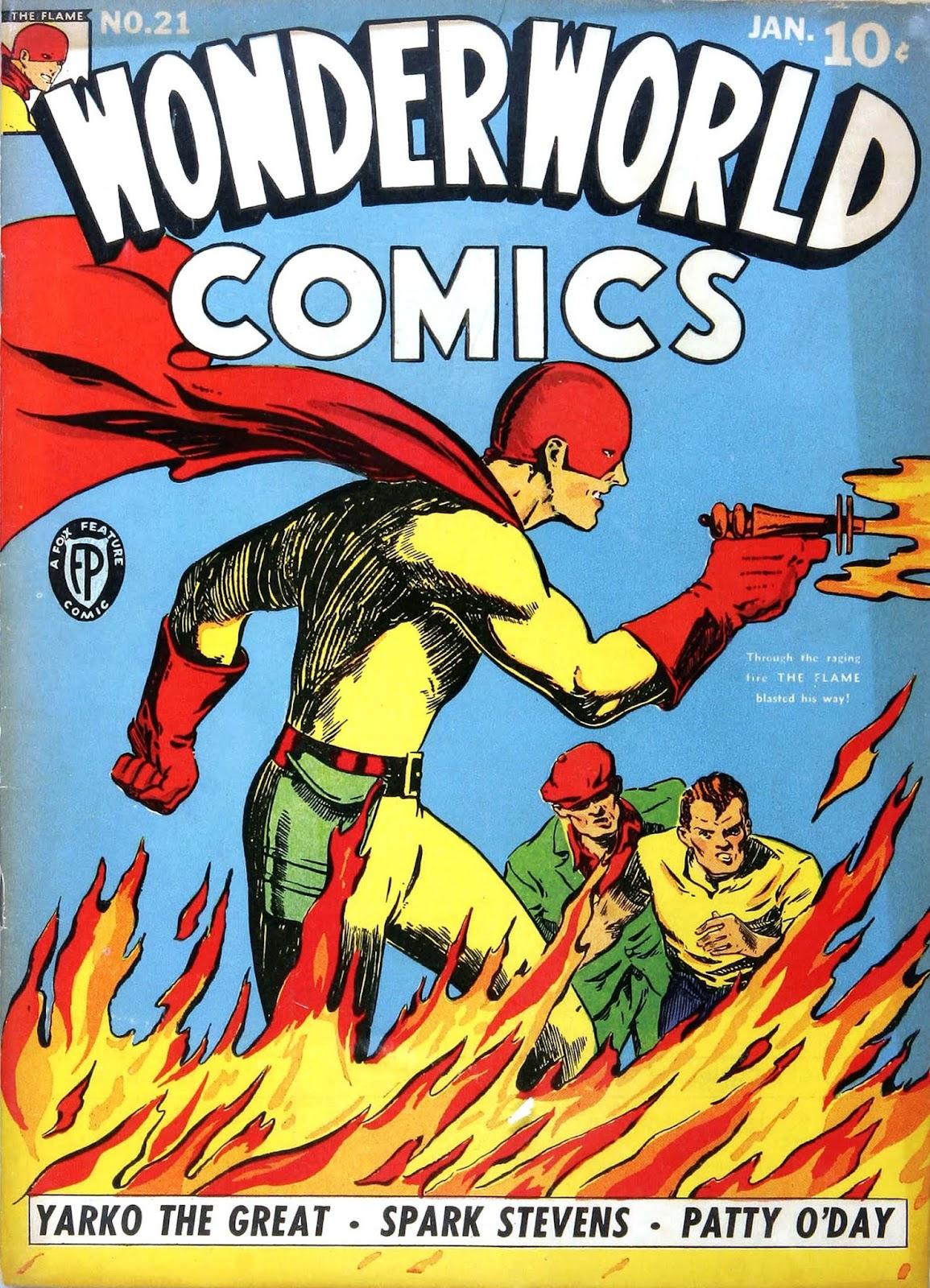 Wonderworld Comics issue 21 - Page 1