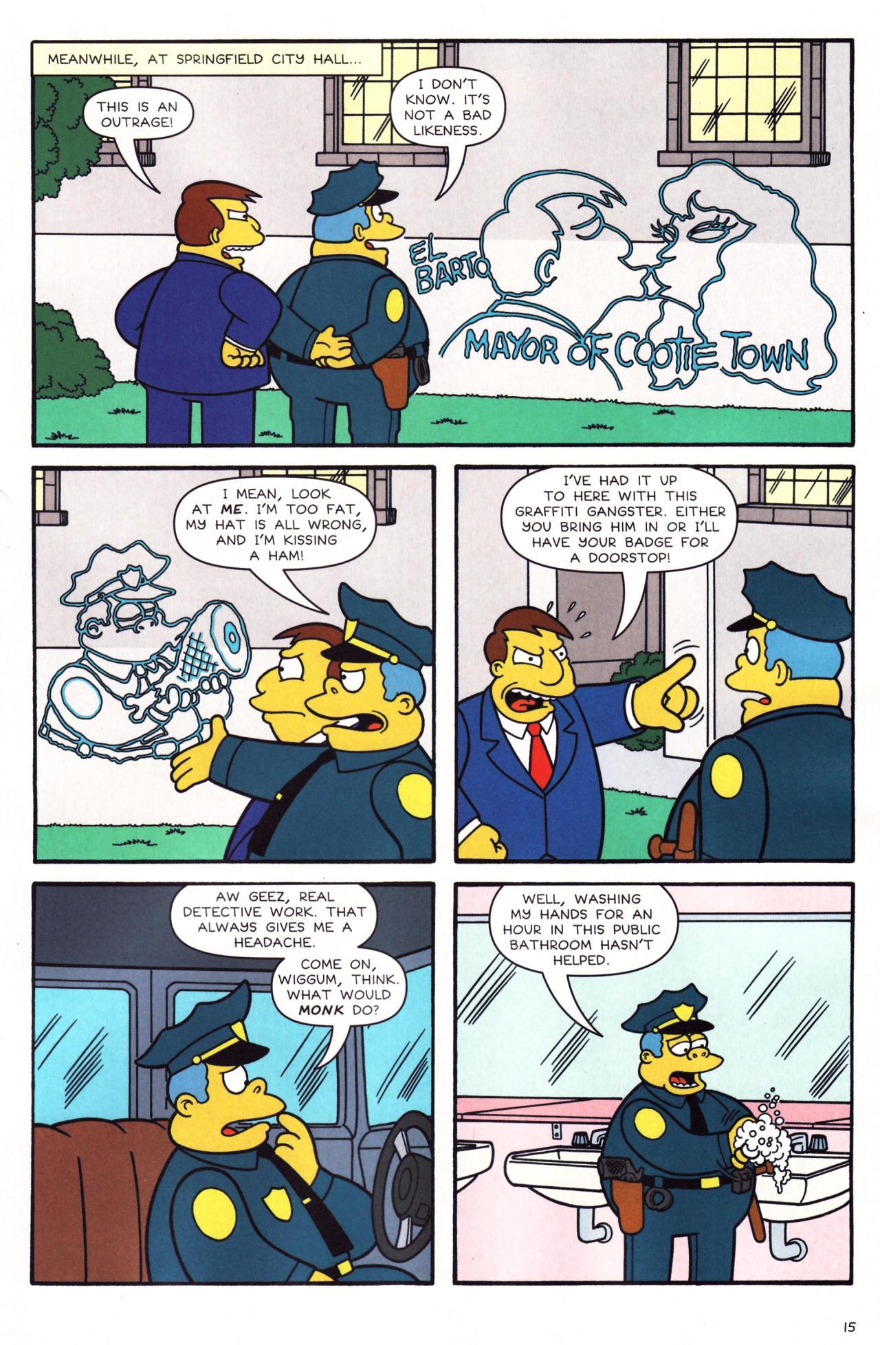 Read online Simpsons Comics comic -  Issue #136 - 12