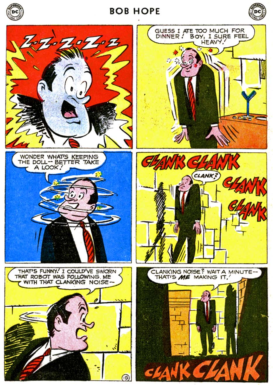 The Adventures of Bob Hope issue 68 - Page 19