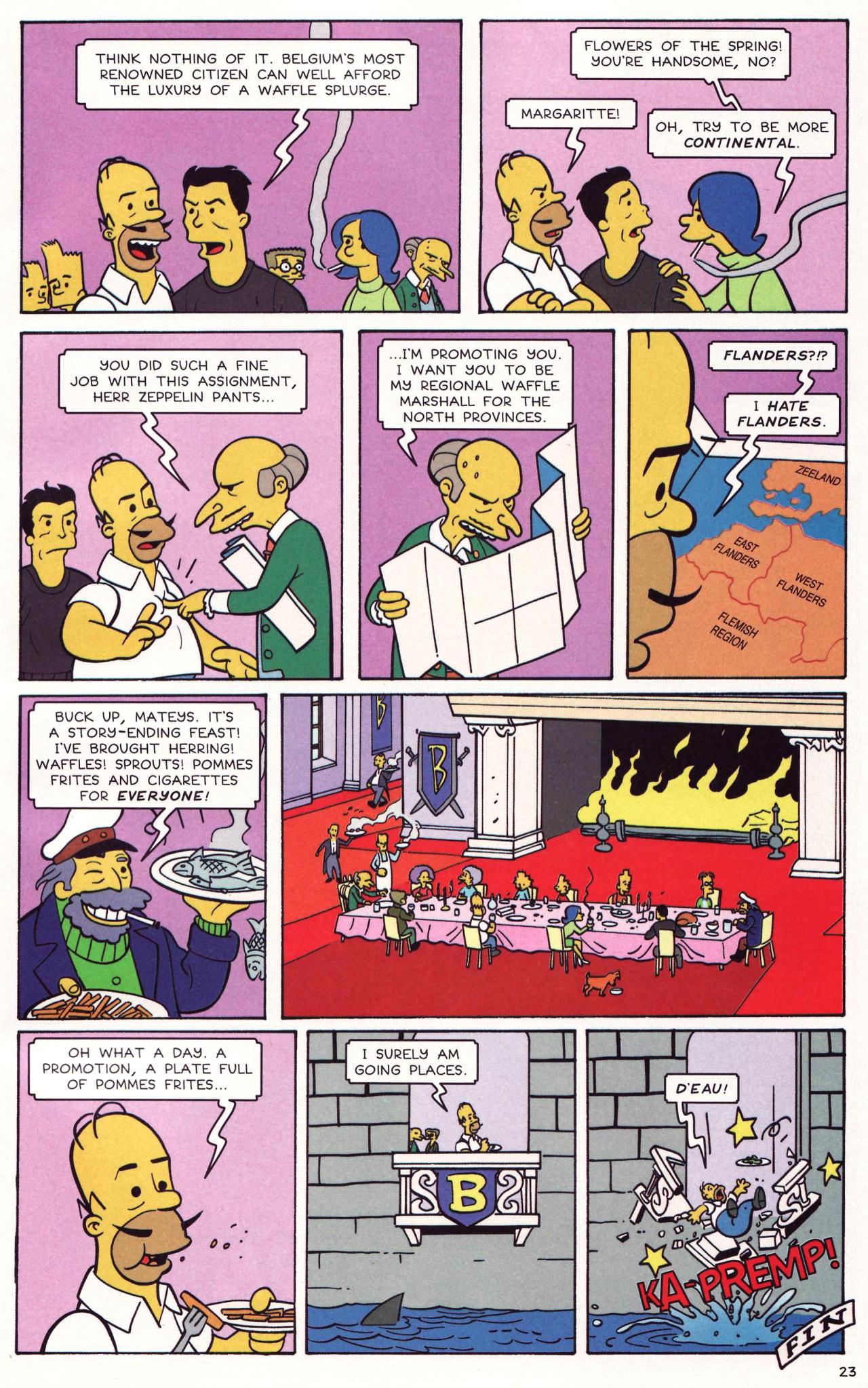 Read online Simpsons Comics comic -  Issue #131 - 20
