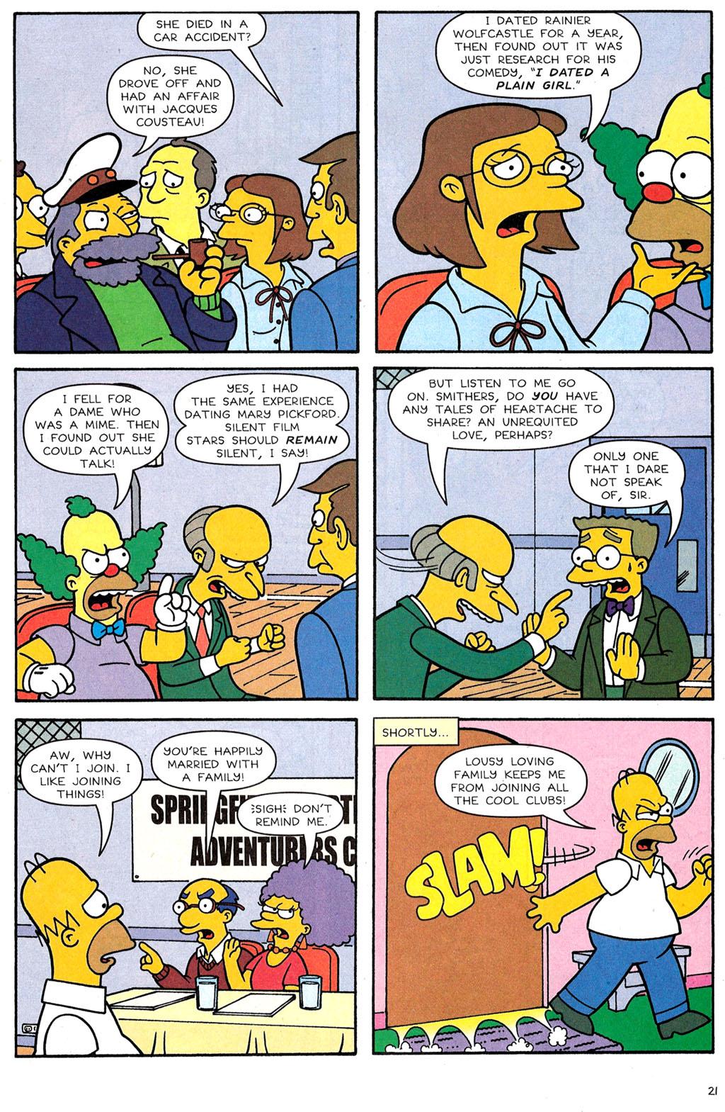 Read online Simpsons Comics comic -  Issue #118 - 17