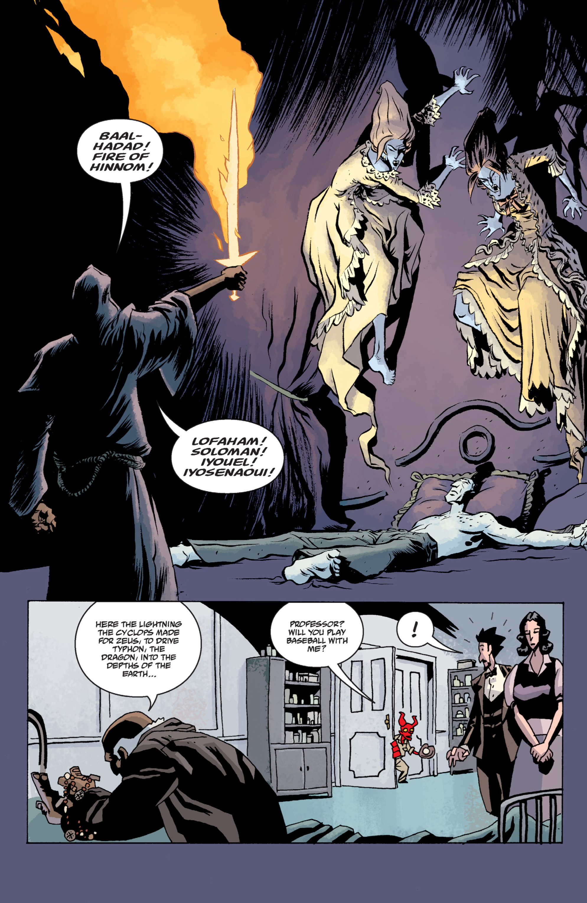 Read online B.P.R.D. (2003) comic -  Issue # TPB 13 - 122