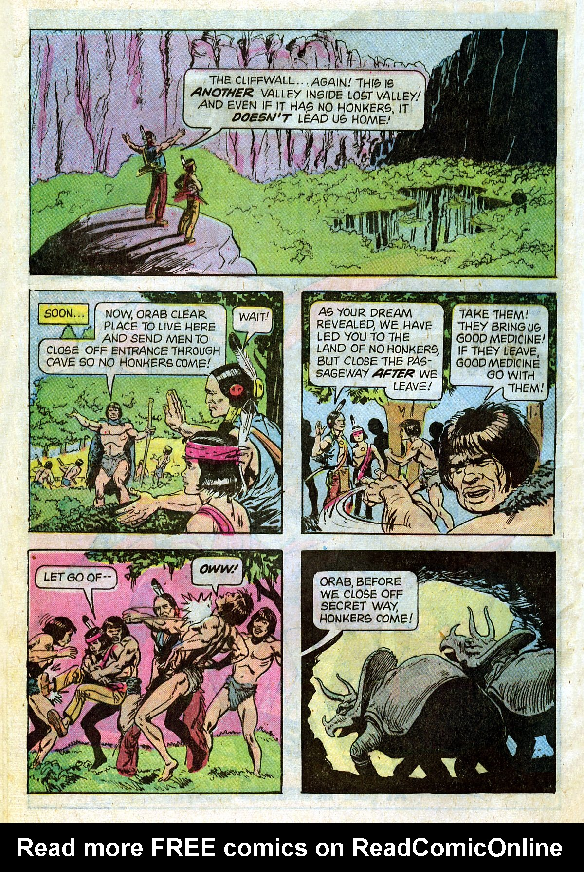 Read online Turok, Son of Stone comic -  Issue #124 - 32