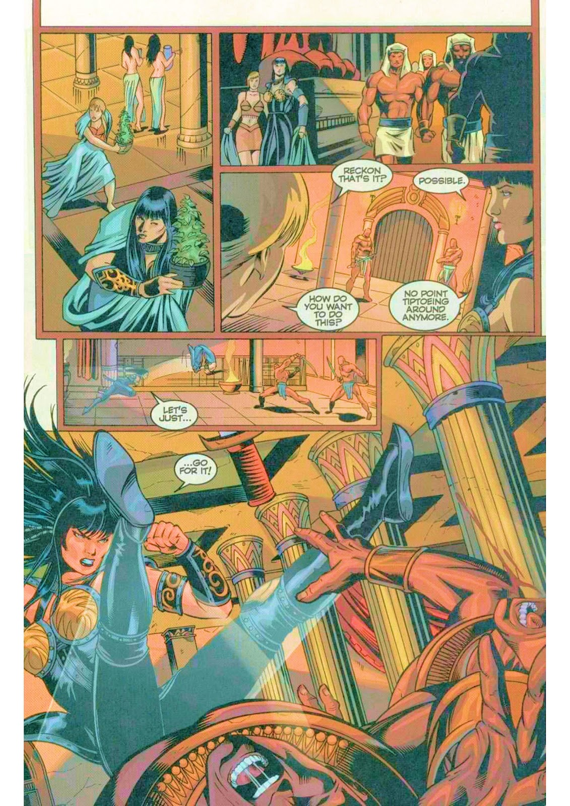 Xena: Warrior Princess (1999) Issue #5 #5 - English 22