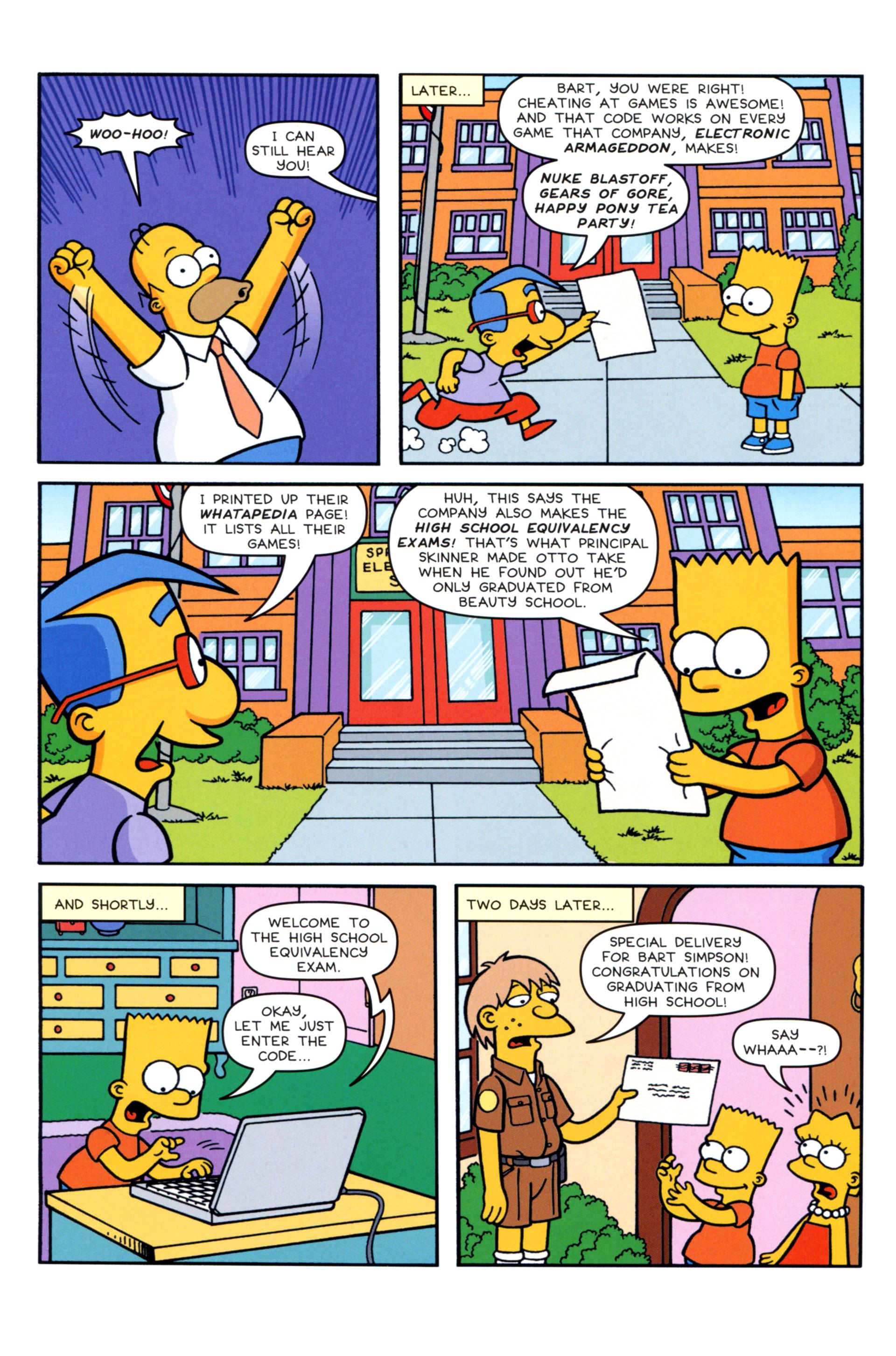 Read online Simpsons Comics comic -  Issue #202 - 7