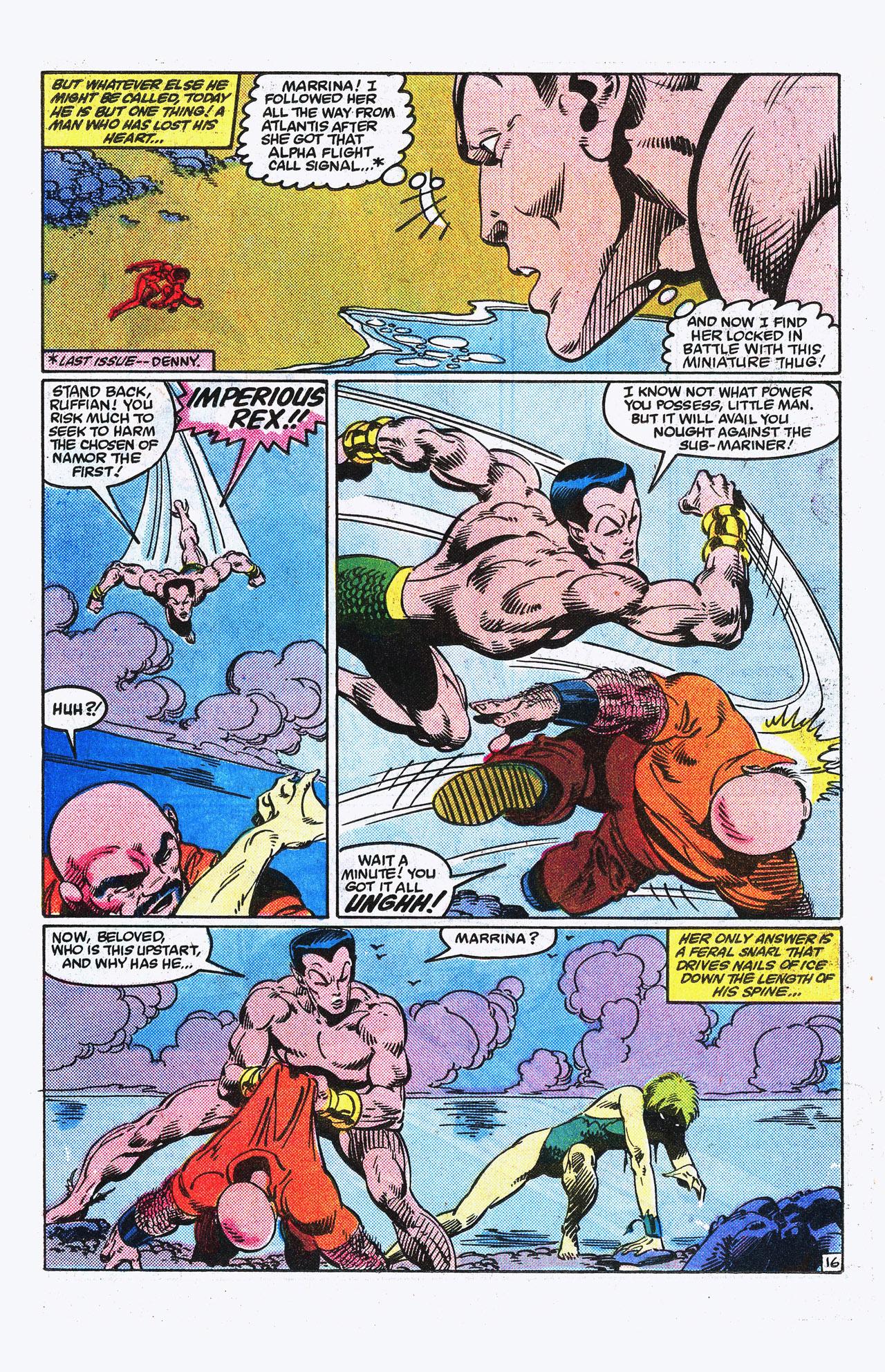 Read online Alpha Flight (1983) comic -  Issue #15 - 17