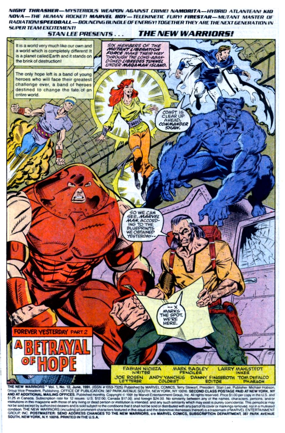 The New Warriors Issue #12 #16 - English 2
