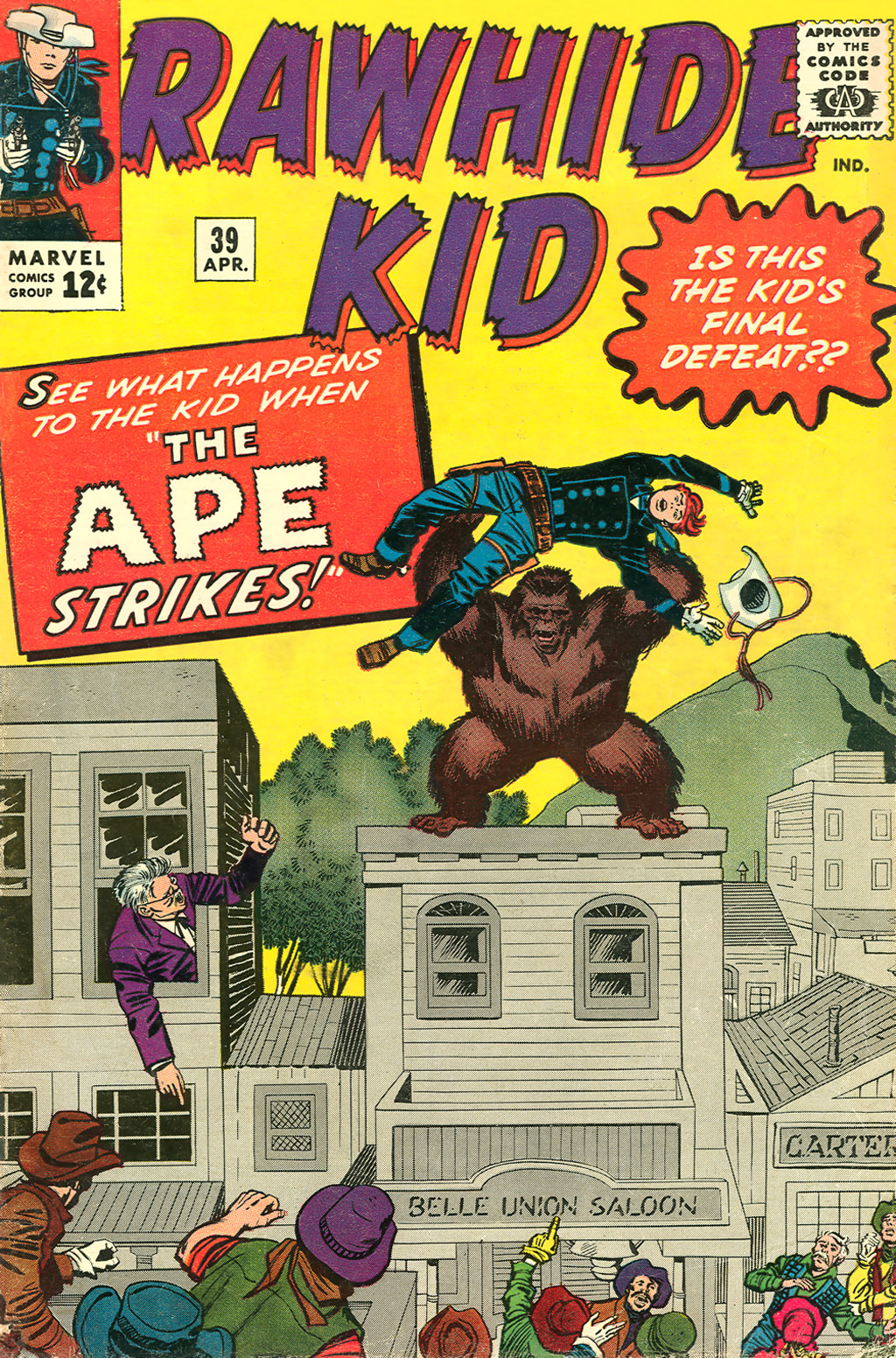 The Rawhide Kid (1955) issue 39 - Page 1