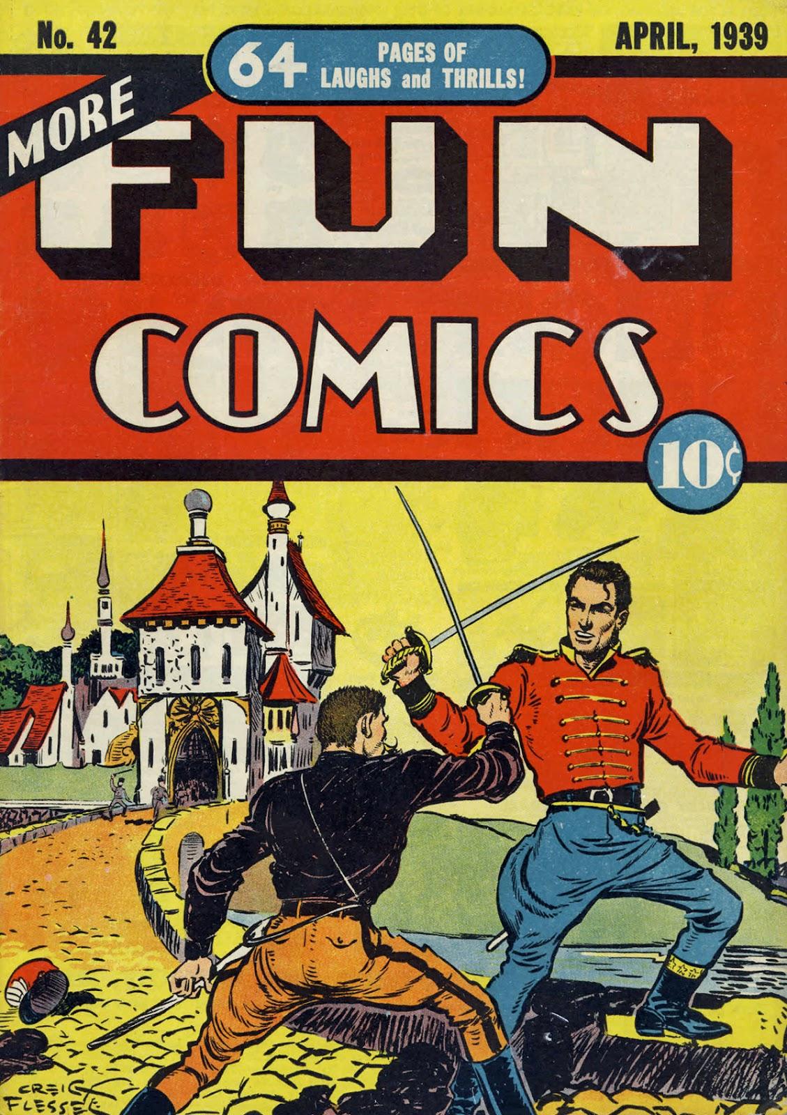 More Fun Comics 42 Page 1