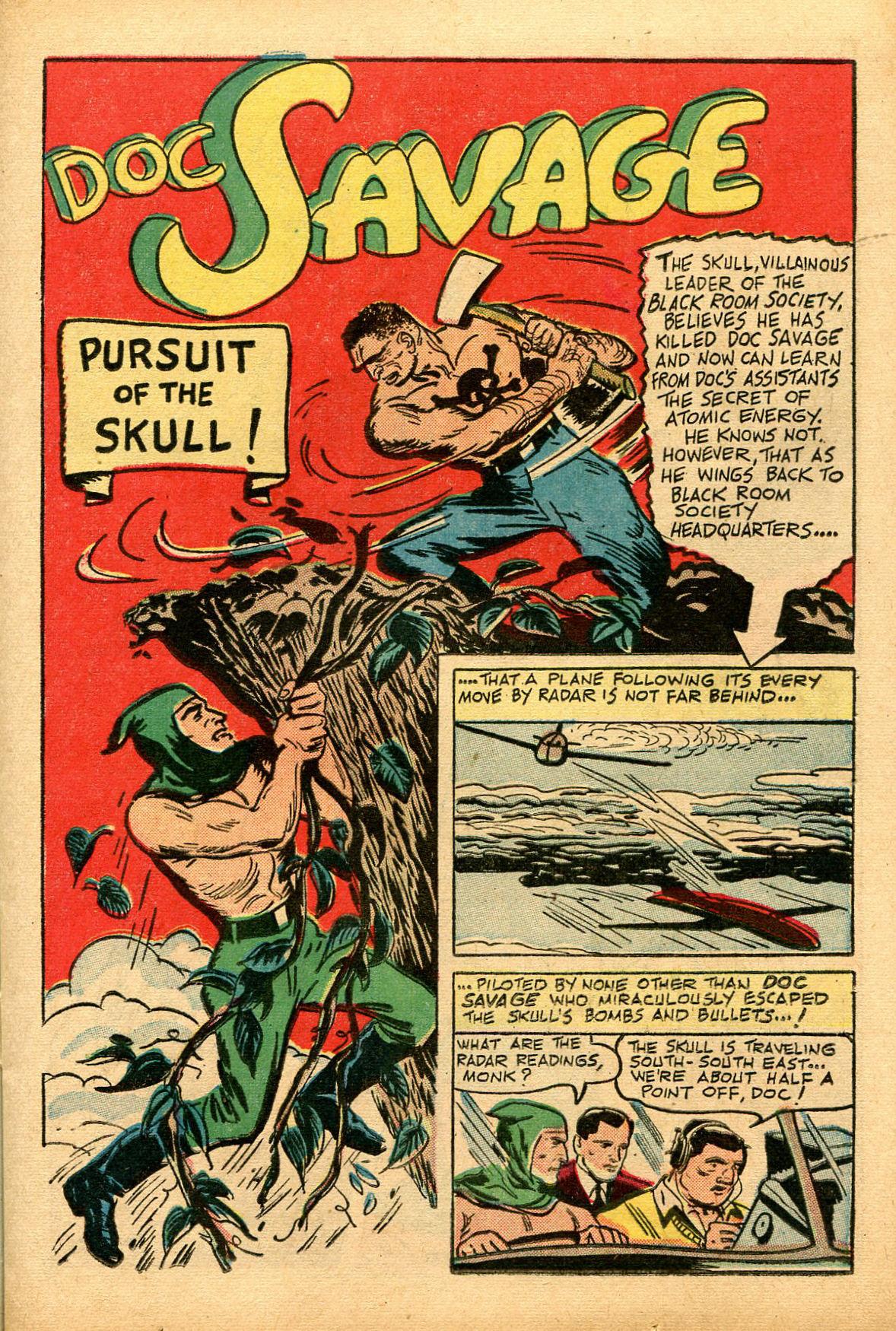 Read online Shadow Comics comic -  Issue #69 - 17