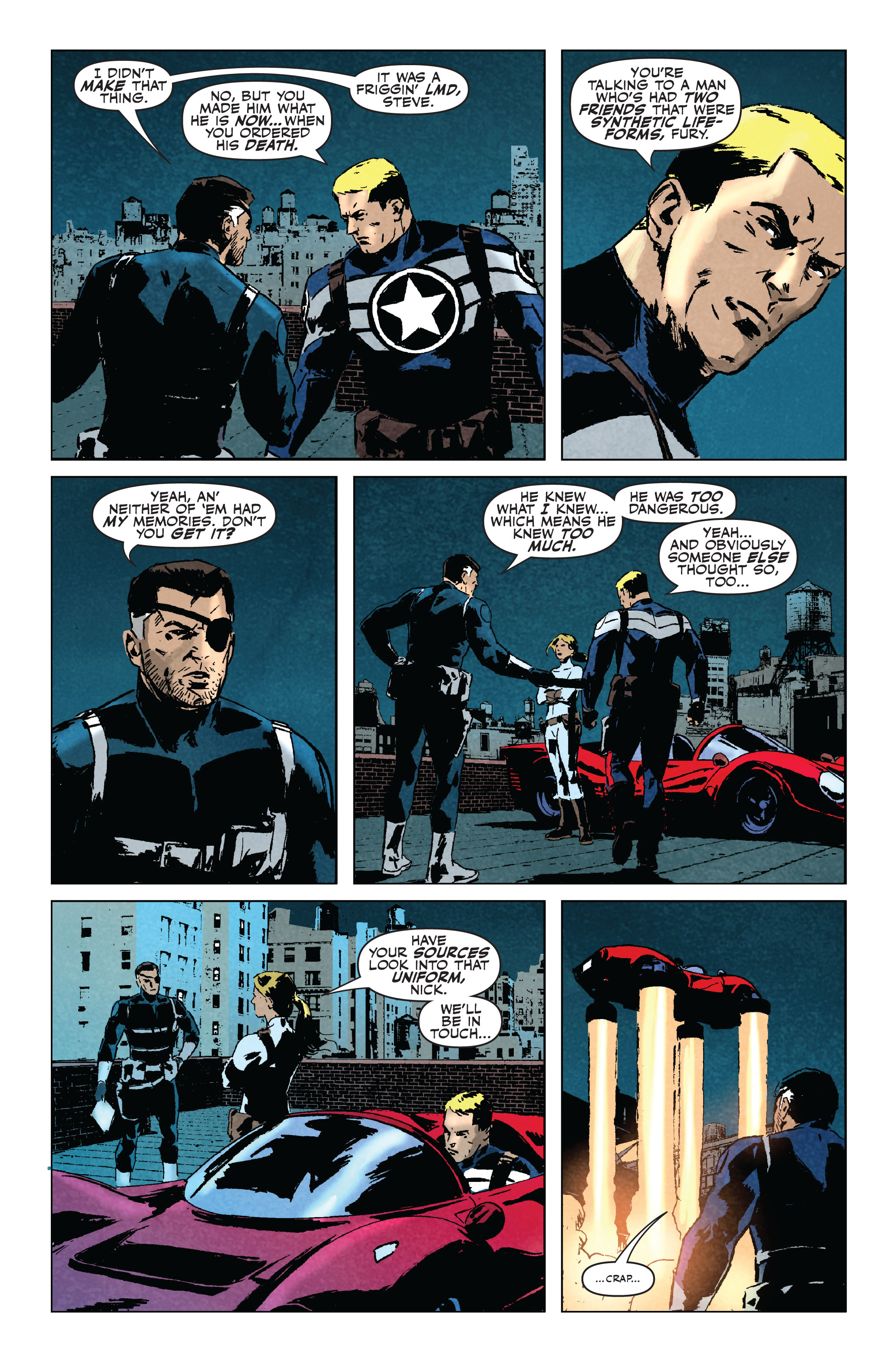 Read online Secret Avengers (2010) comic -  Issue #5 - 19