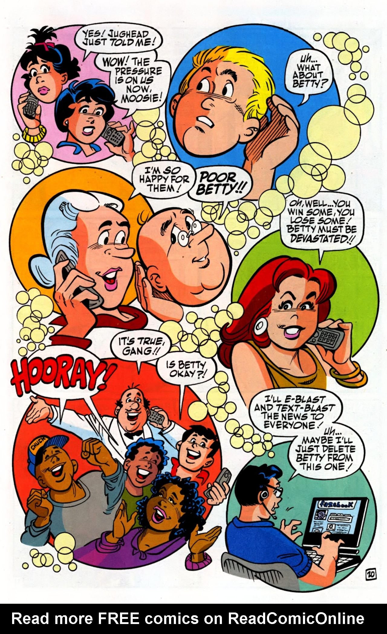 Read online Archie (1960) comic -  Issue #600 - 27