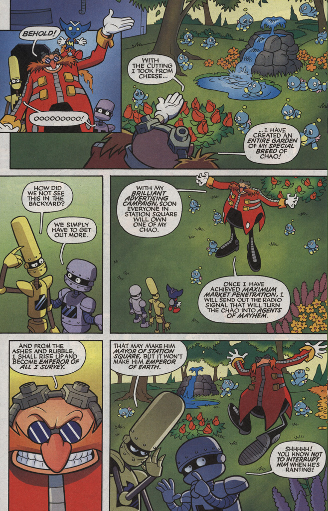Read online Sonic X comic -  Issue #5 - 18