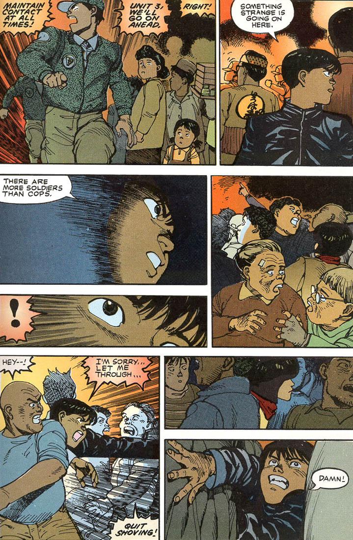 Read online Akira comic -  Issue #1 - 55