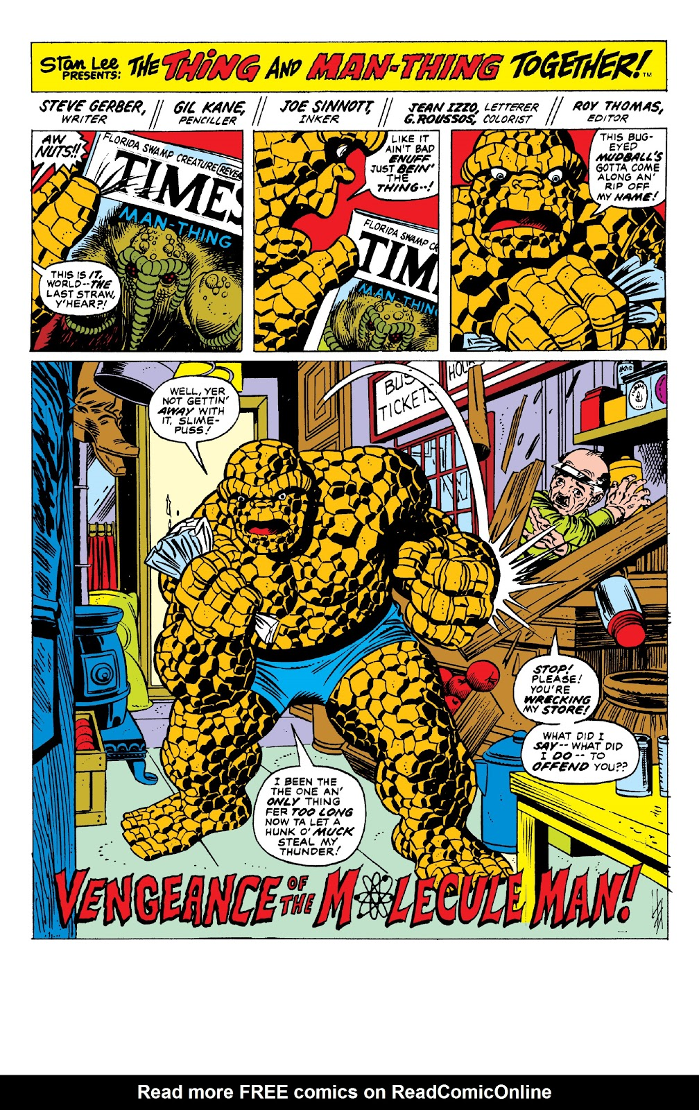Read online Marvel Two-In-One Epic Collection: Cry Monster comic -  Issue # TPB (Part 1) - 46