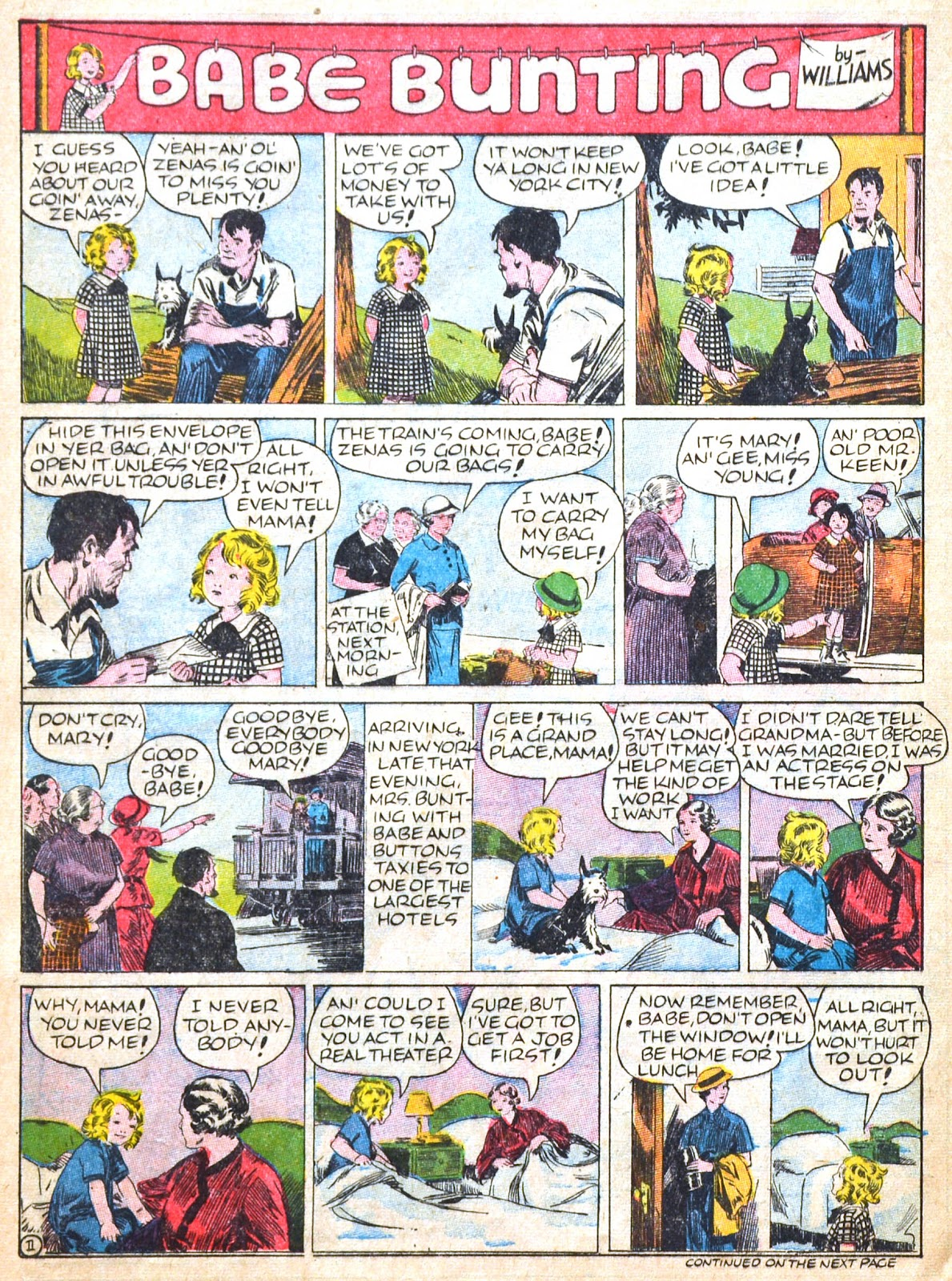 Read online Famous Funnies comic -  Issue #51 - 54