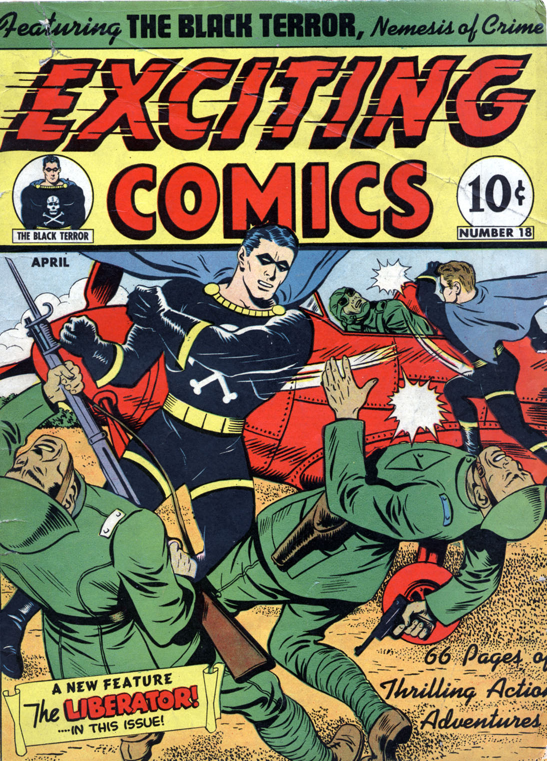 Exciting Comics (1940) 18 Page 1