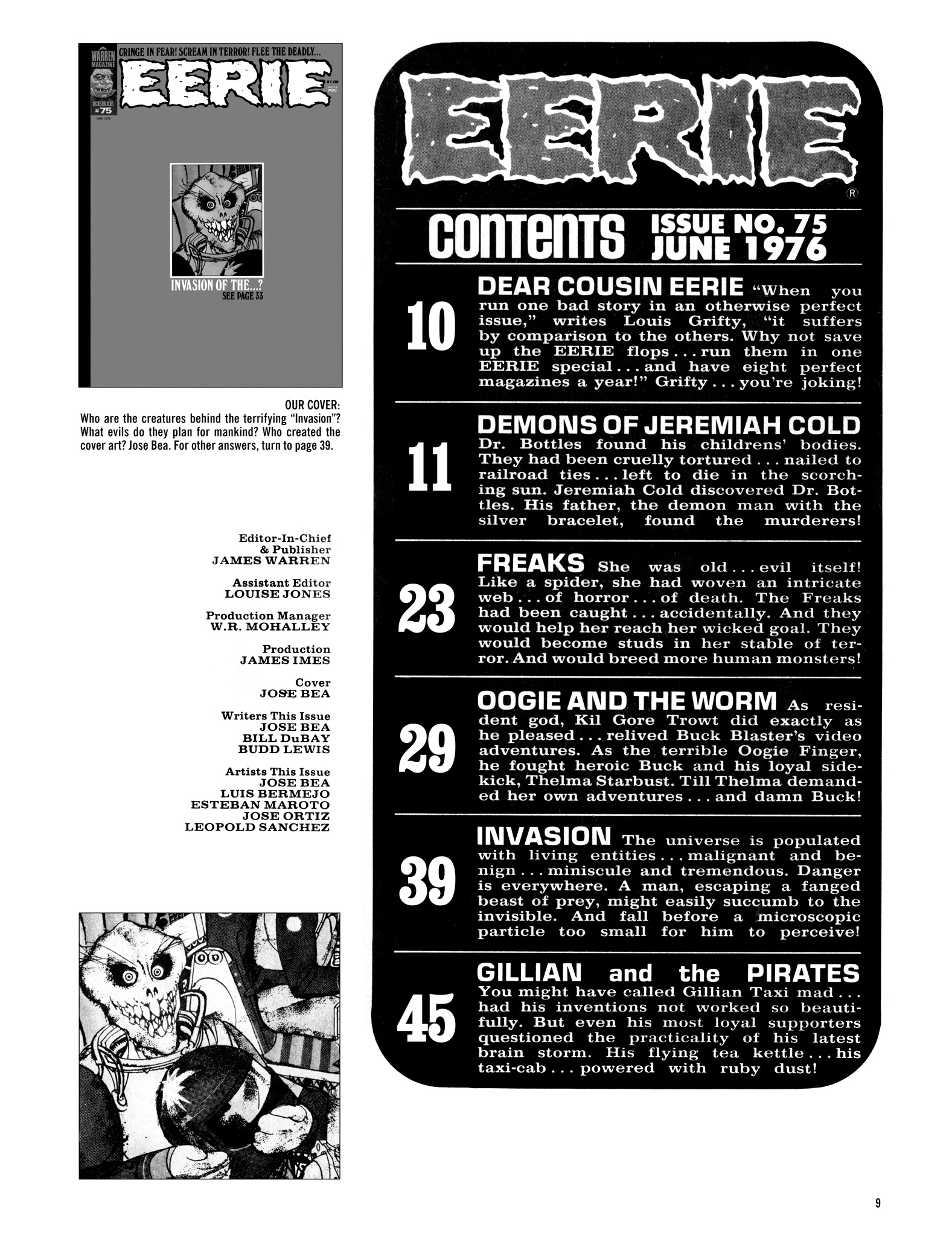 Read online Eerie Archives comic -  Issue # TPB 16 - 10