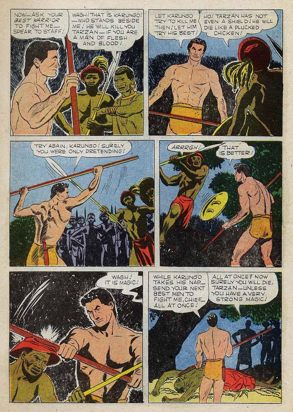 Tarzan (1948) issue 101 - Page 7