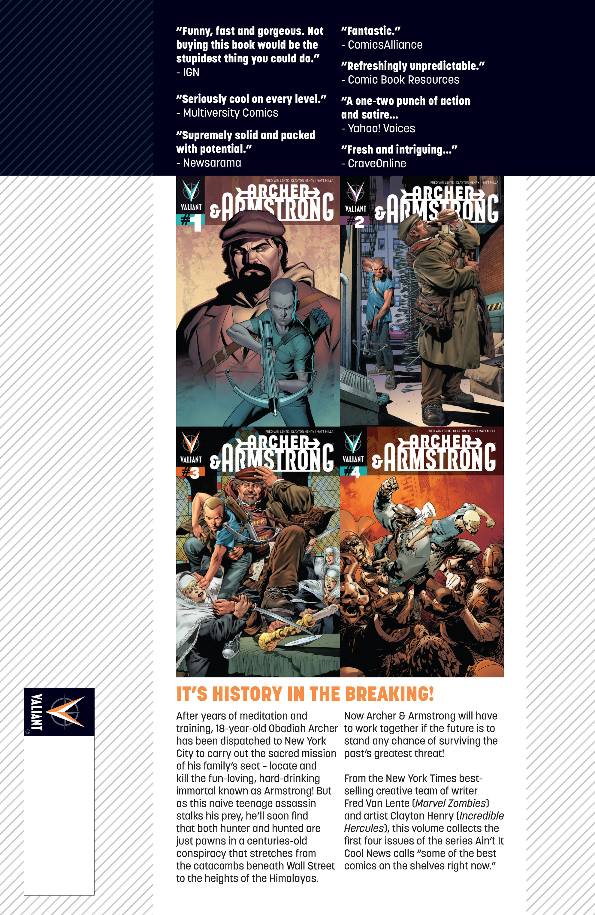 Read online Archer and Armstrong comic -  Issue #Archer and Armstrong _TPB 1 - 111