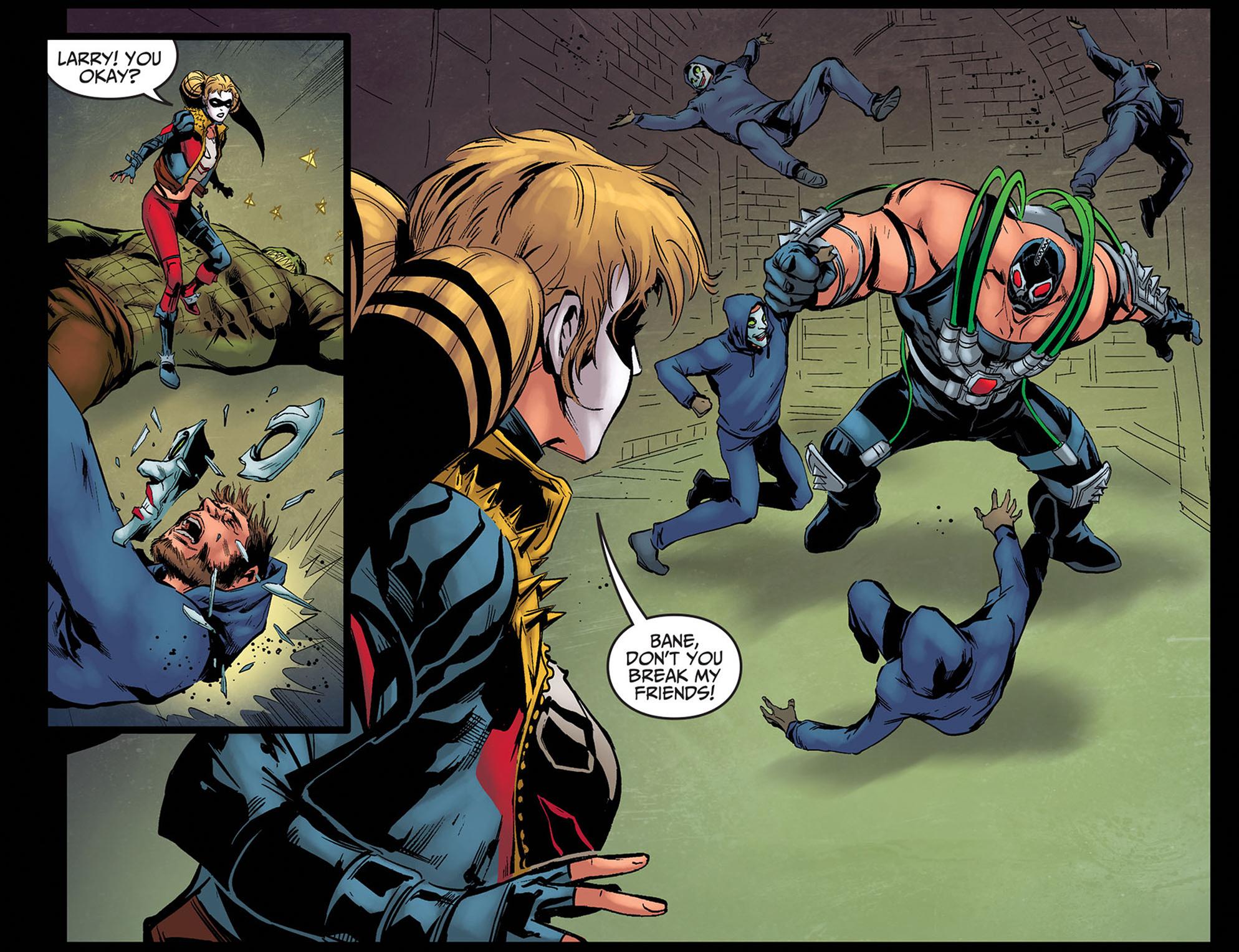 Read online Injustice: Ground Zero comic -  Issue #8 - 17