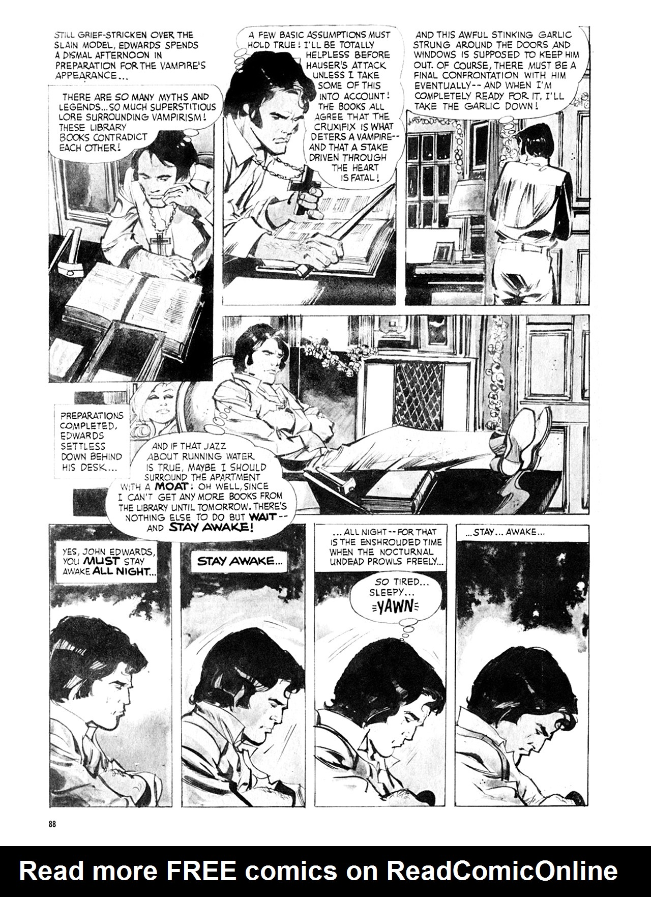 Read online Eerie Archives comic -  Issue # TPB 8 - 89