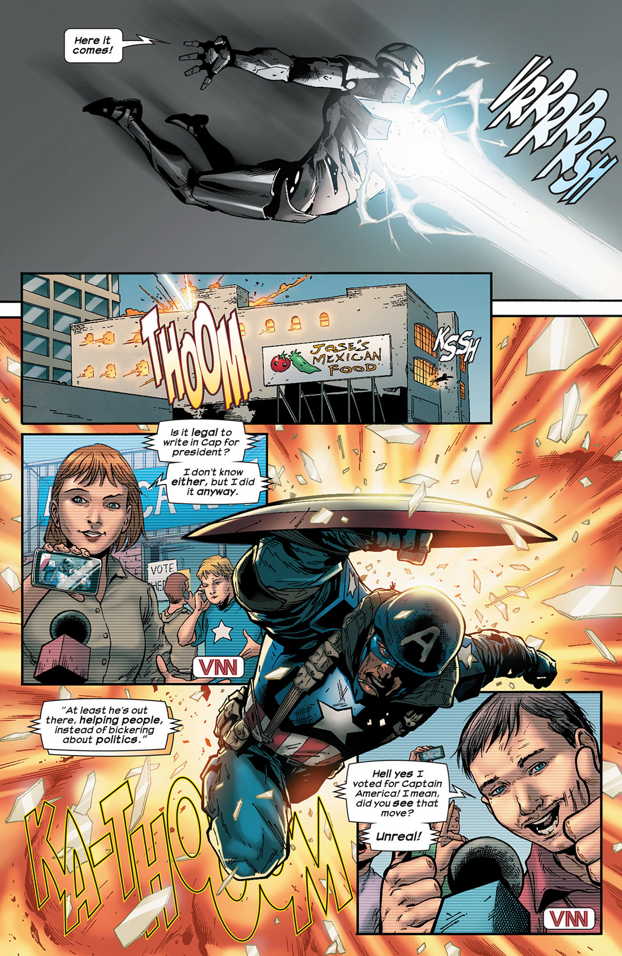 Read online Ultimate Comics Ultimates comic -  Issue #15 - 15