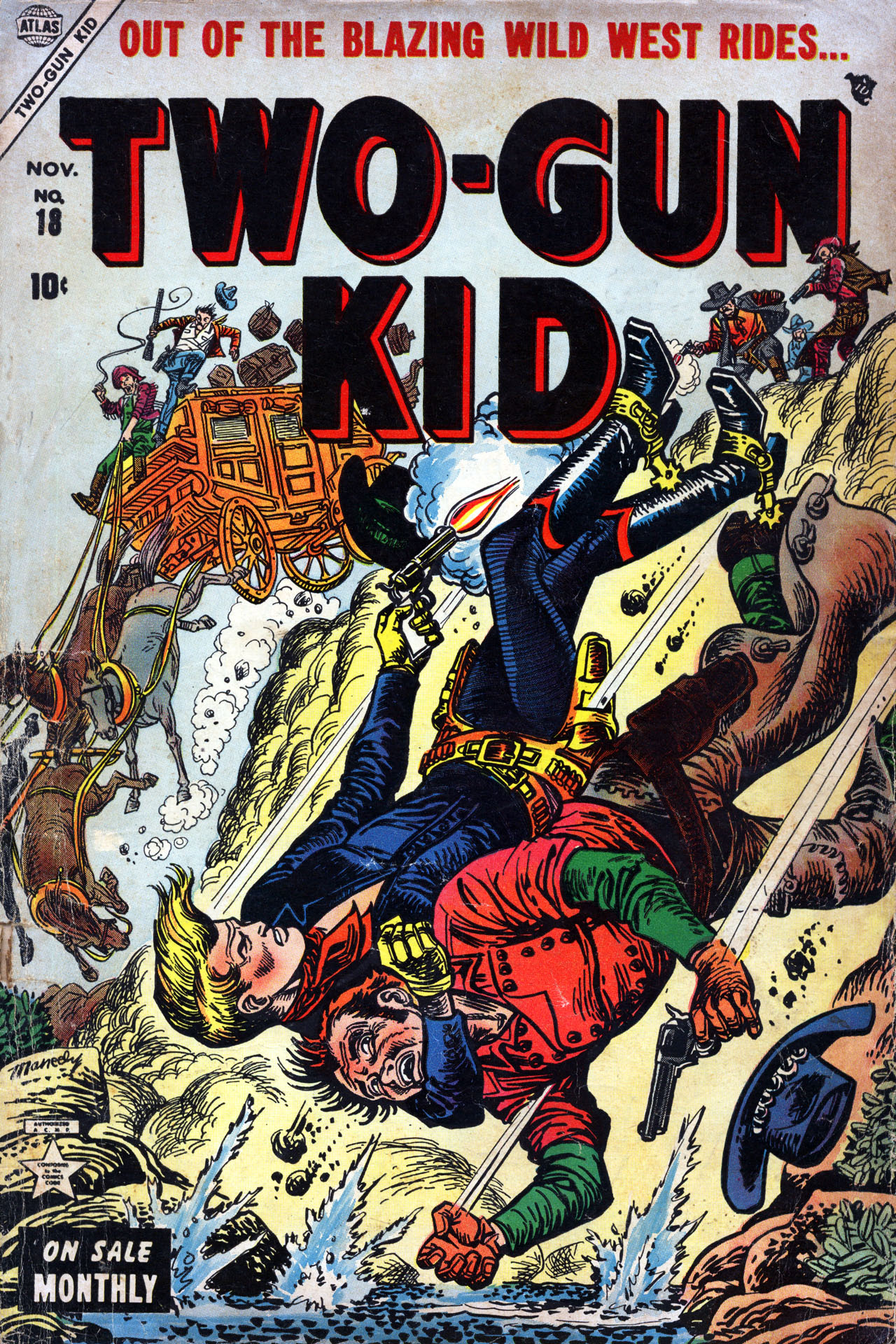 Read online Two-Gun Kid comic -  Issue #18 - 1