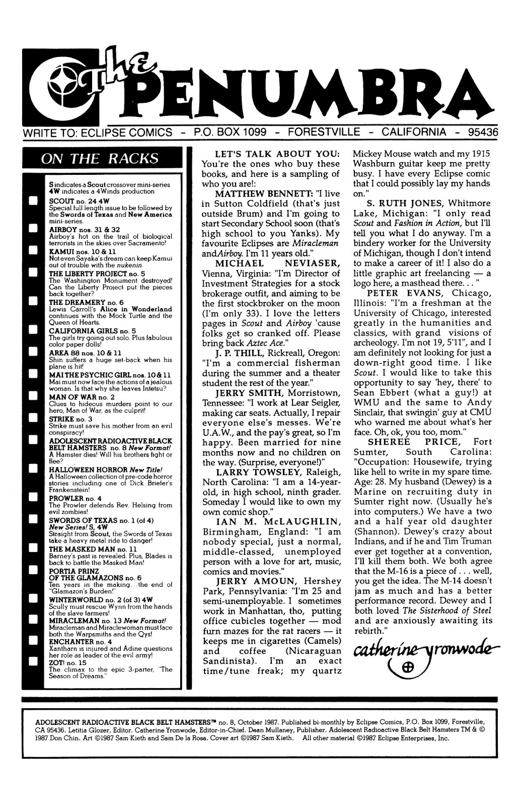 Adolescent Radioactive Black Belt Hamsters (1986) issue 8 - Page 2