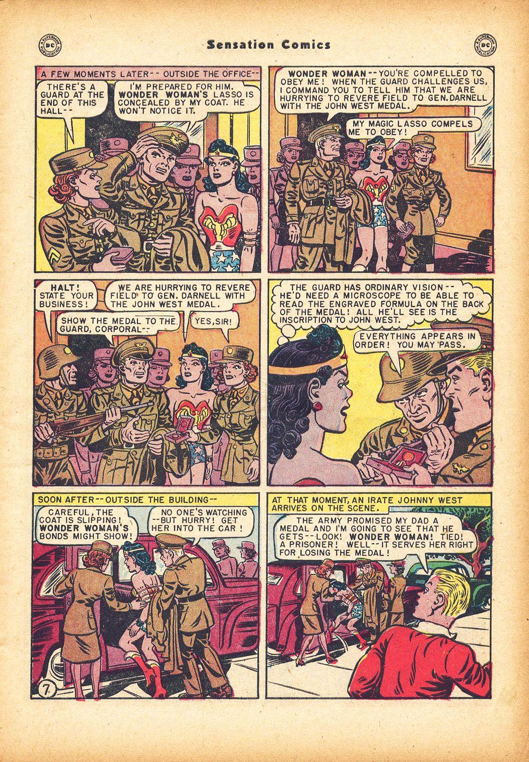 Read online Sensation (Mystery) Comics comic -  Issue #78 - 9