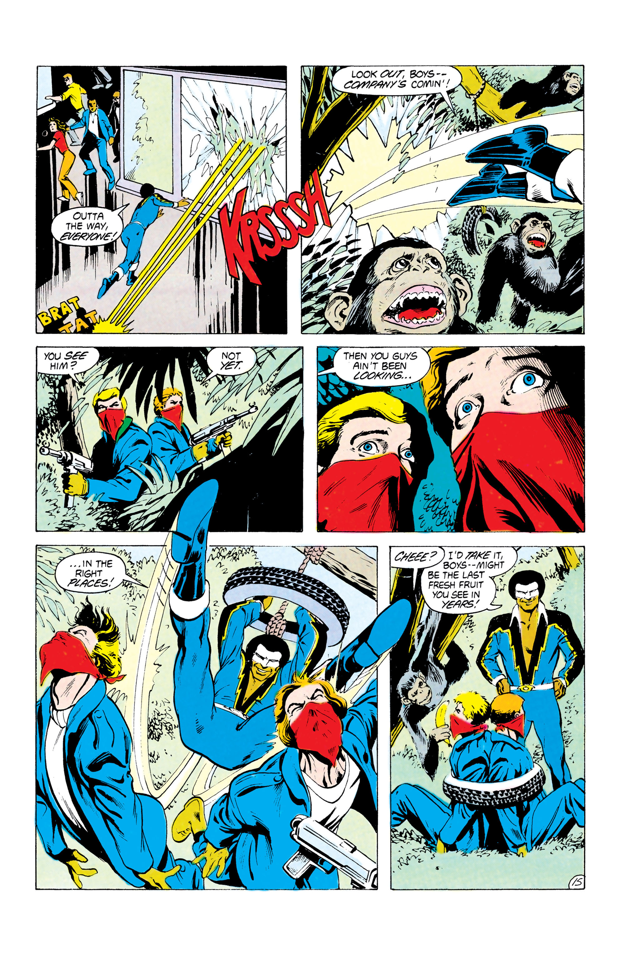 Batman and the Outsiders (1983) 24 Page 15