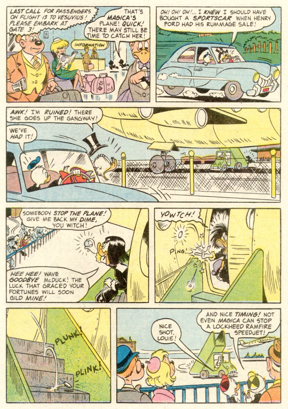Read online Uncle Scrooge (1953) comic -  Issue #210 - 9