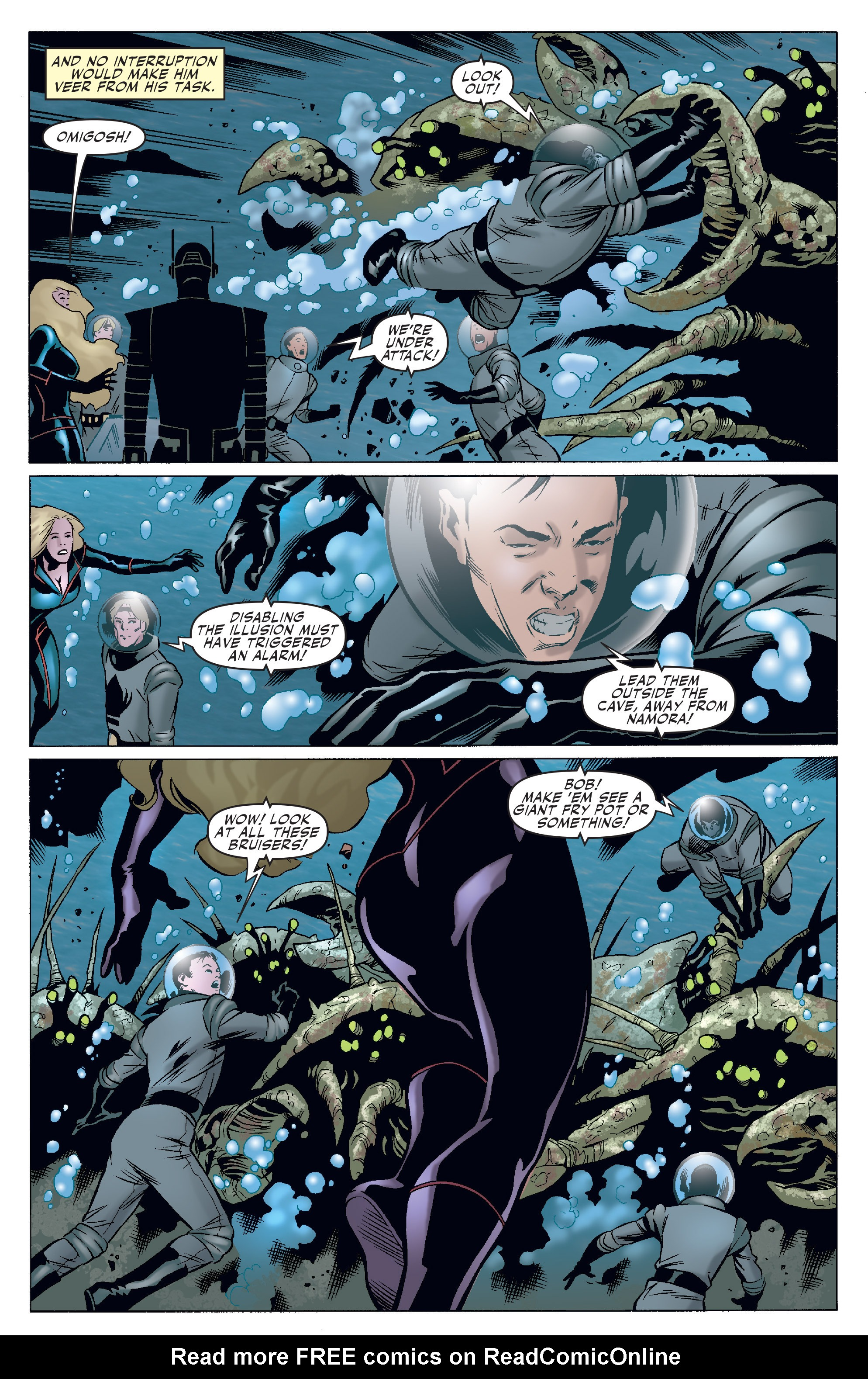 Read online Agents Of Atlas (2006) comic -  Issue #4 - 5