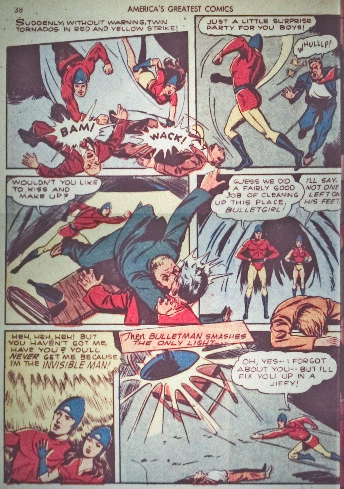 Read online America's Greatest Comics comic -  Issue #1 - 41