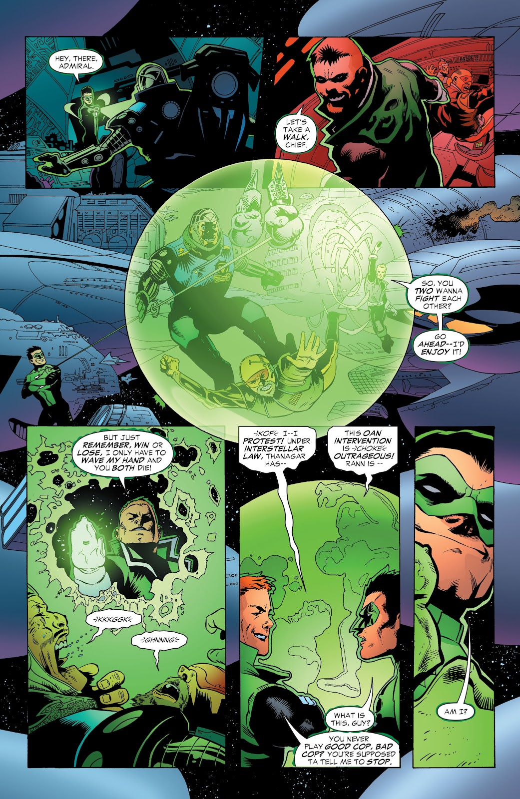 Read online Green Lantern by Geoff Johns comic -  Issue # TPB 1 (Part 3) - 14