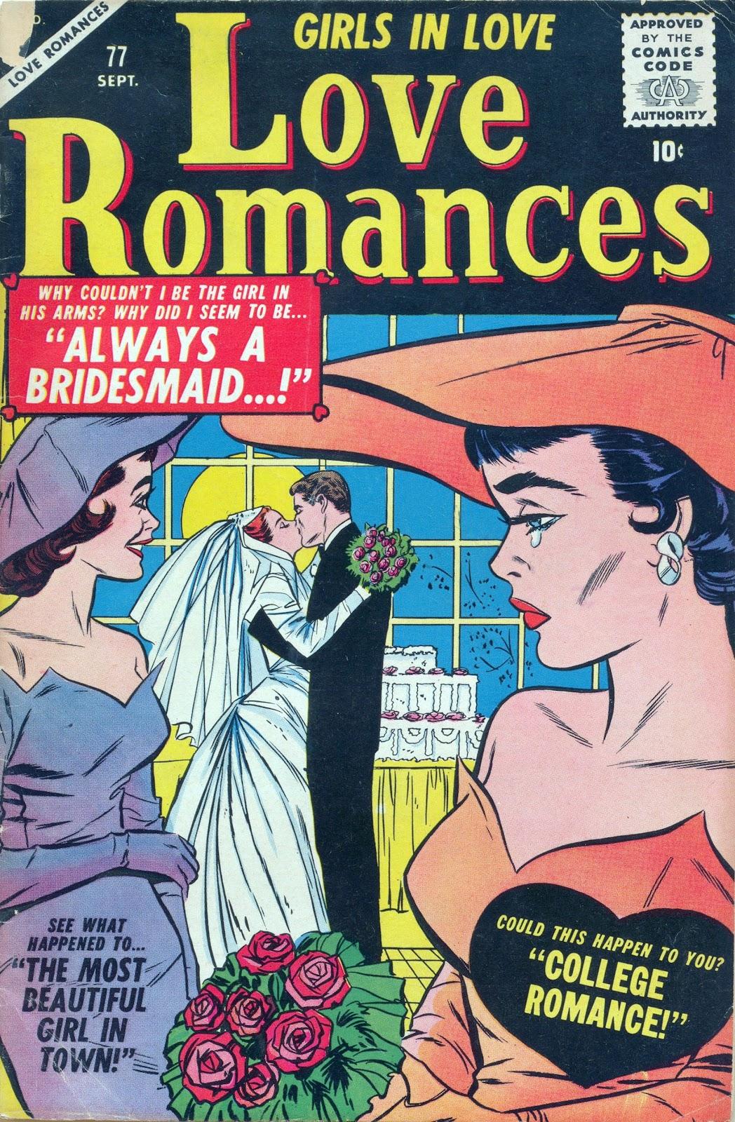 Love Romances (1949) issue 77 - Page 1