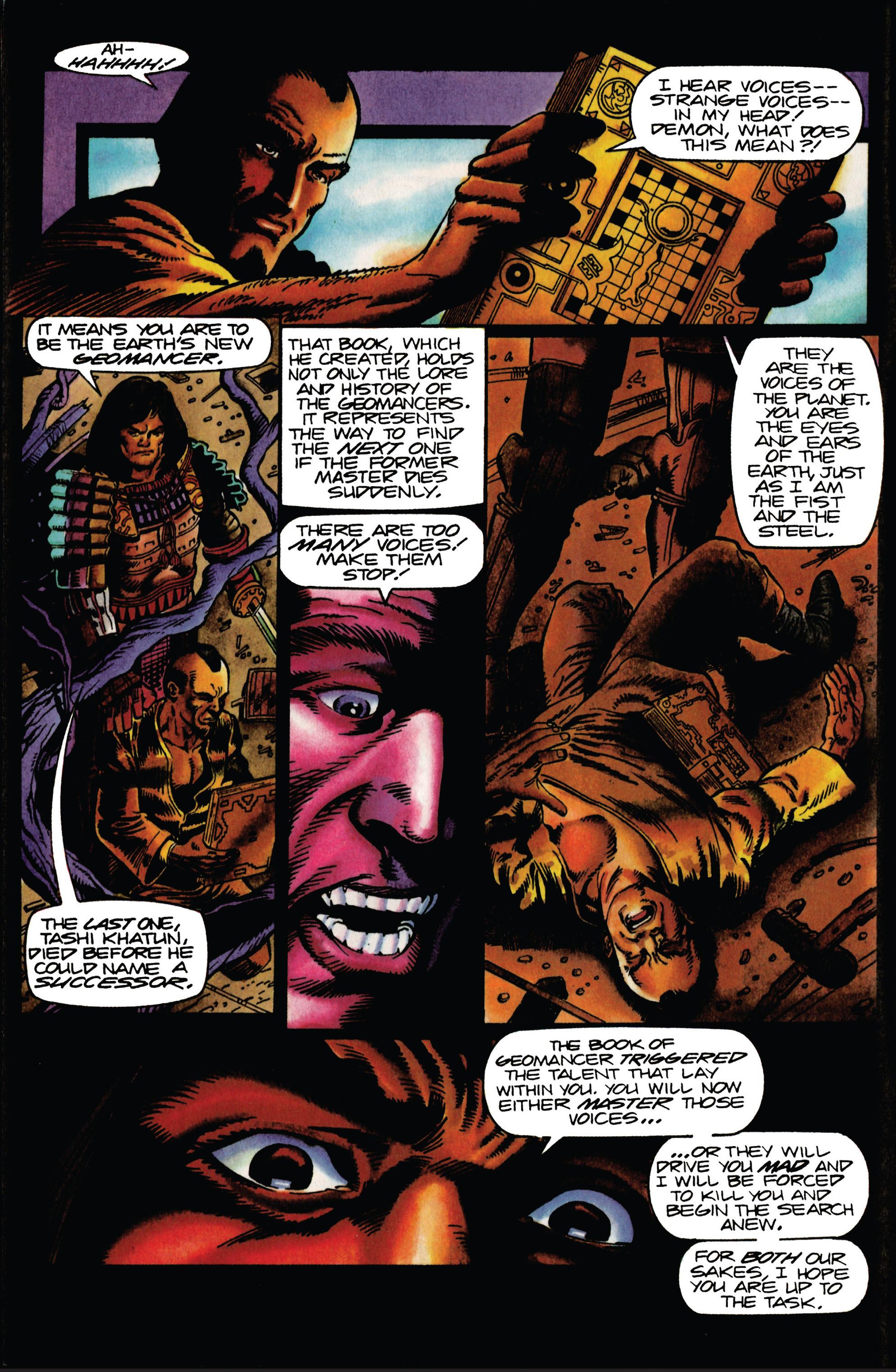 Read online Eternal Warrior (1992) comic -  Issue #27 - 5
