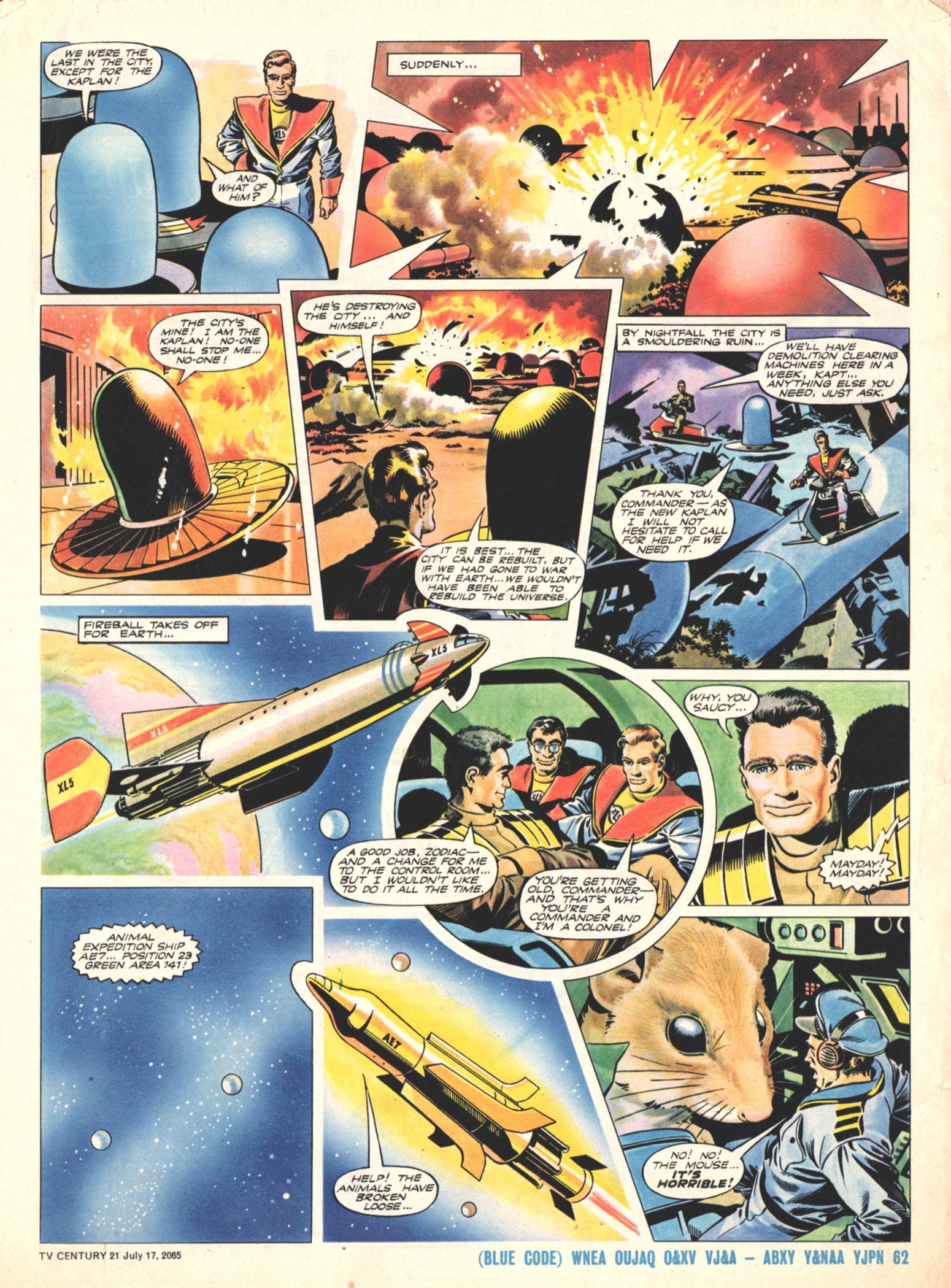 Read online TV Century 21 (TV 21) comic -  Issue #26 - 5