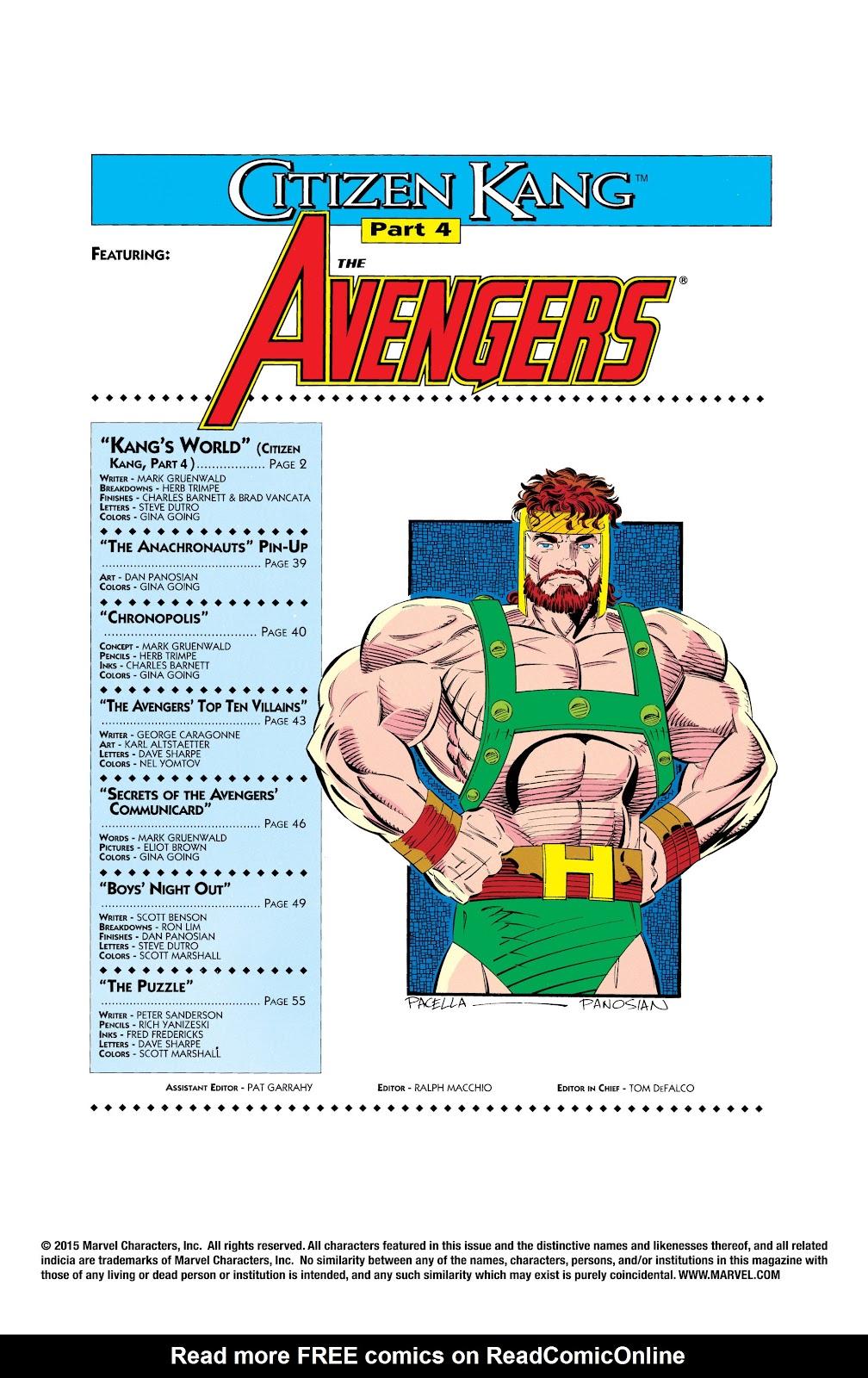 Read online Avengers: Citizen Kang comic -  Issue # TPB (Part 2) - 71