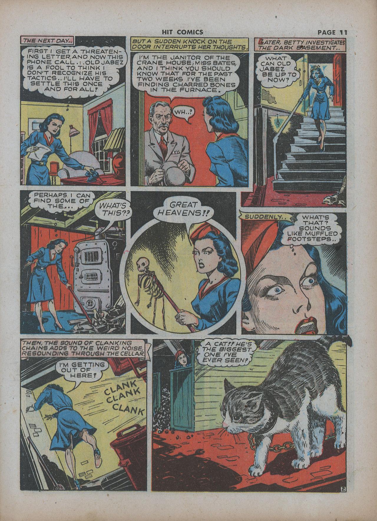 Read online Hit Comics comic -  Issue #22 - 13