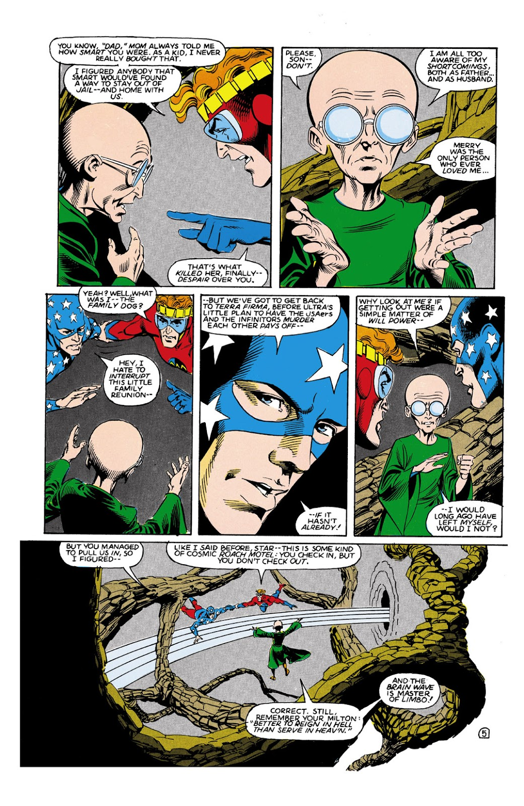 Infinity Inc. (1984) issue 9 - Page 5