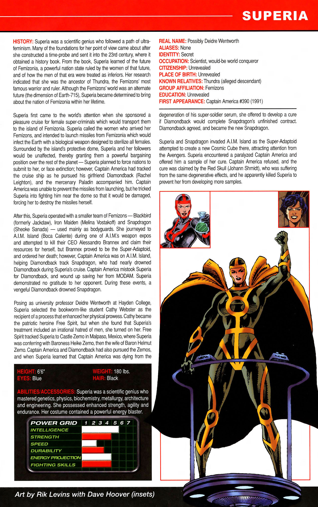 Read online All-New Official Handbook of the Marvel Universe A to Z comic -  Issue #11 - 17