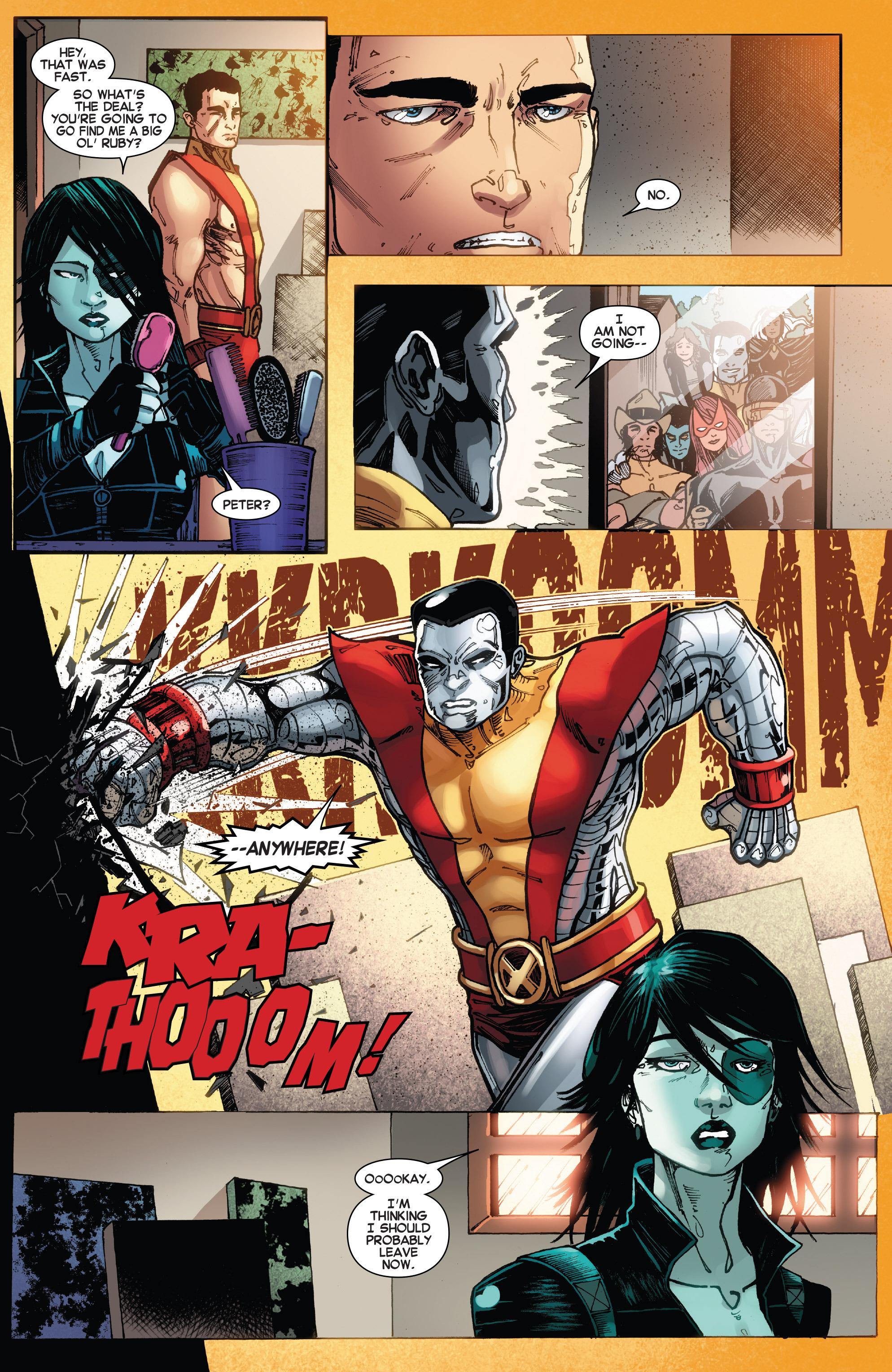 Read online Amazing X-Men (2014) comic -  Issue #15 - 15
