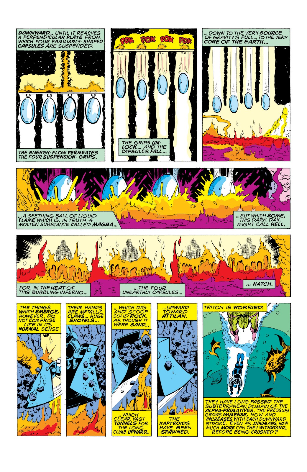 Read online Marvel Masterworks: The Inhumans comic -  Issue # TPB 2 (Part 1) - 32